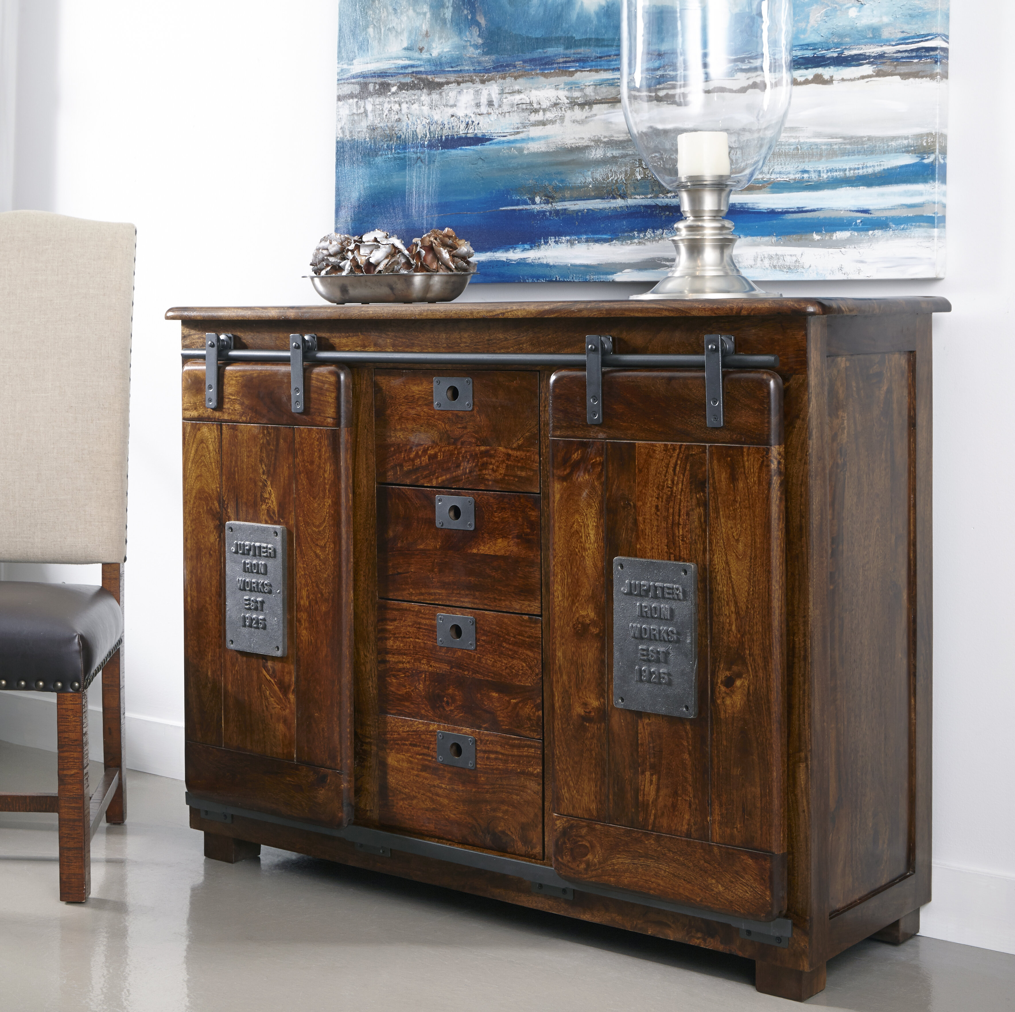 Guglielmo 2 Door 4 Drawer Sideboard In Shoreland Sideboards (View 16 of 30)