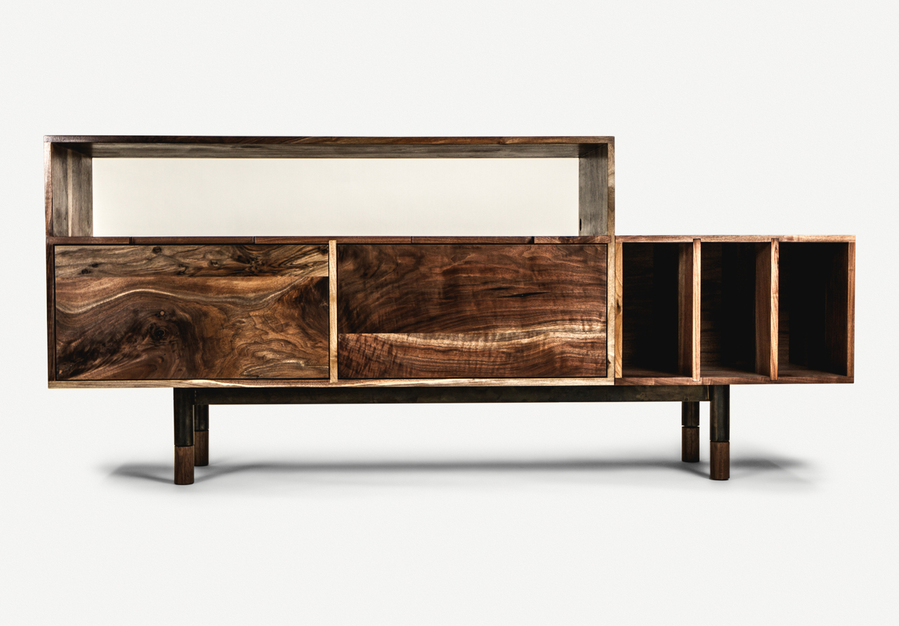 Handcrafted Furniturejeff Martin Joinery – Design Milk Intended For Wooden Deconstruction Credenzas (View 15 of 30)