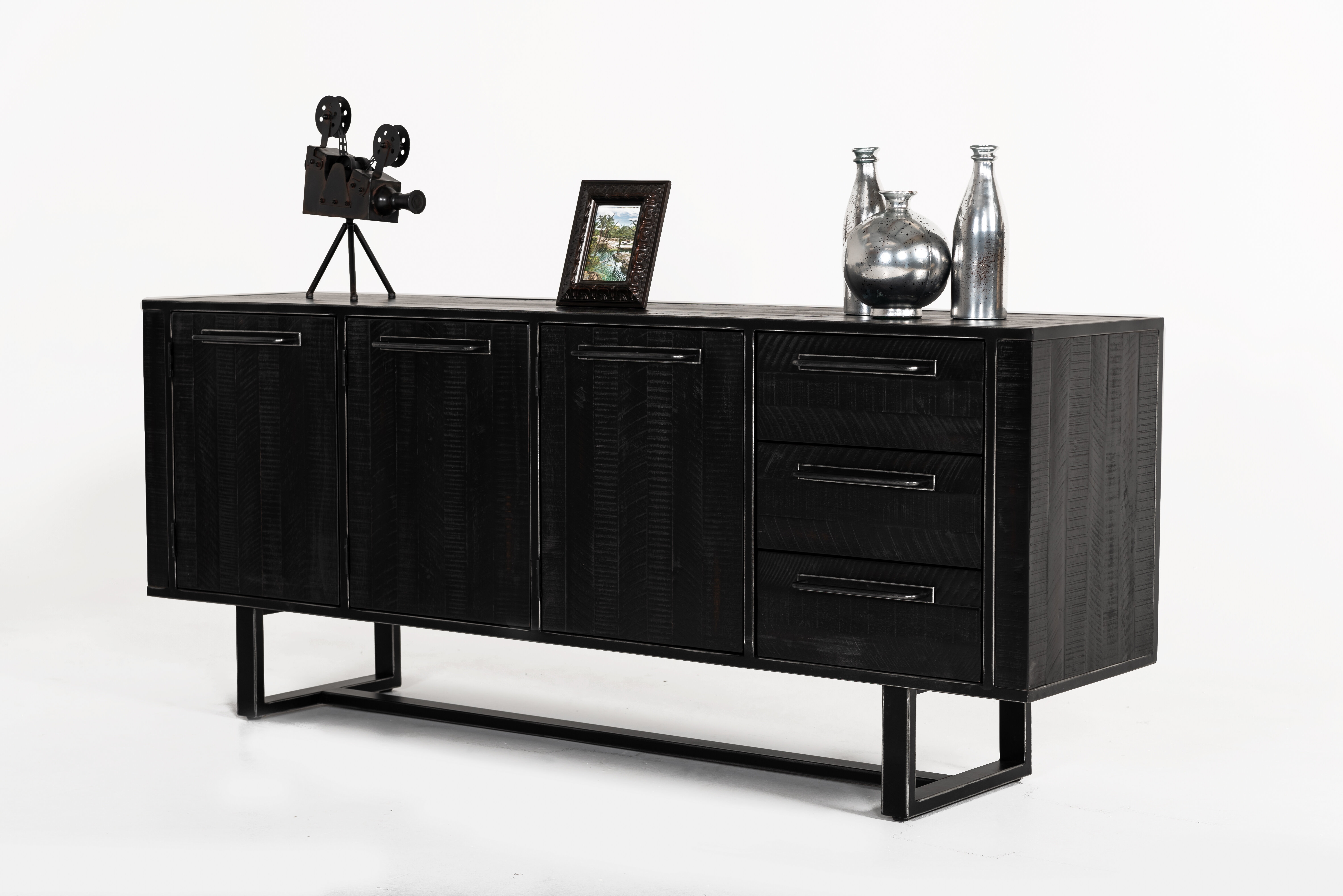 Hatherleigh Sideboard throughout Jacklyn 3 Door Sideboards (Image 12 of 30)