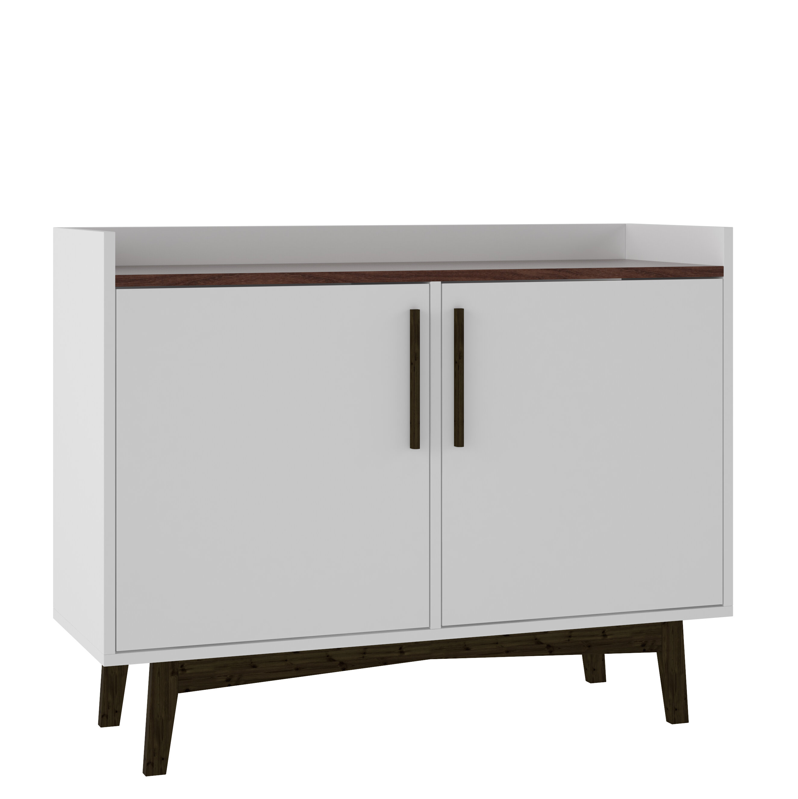 Headrick Mid Century Modern Sideboard Within Contemporary Wooden Buffets With One Side Door Storage Cabinets And Two Drawers (View 10 of 30)