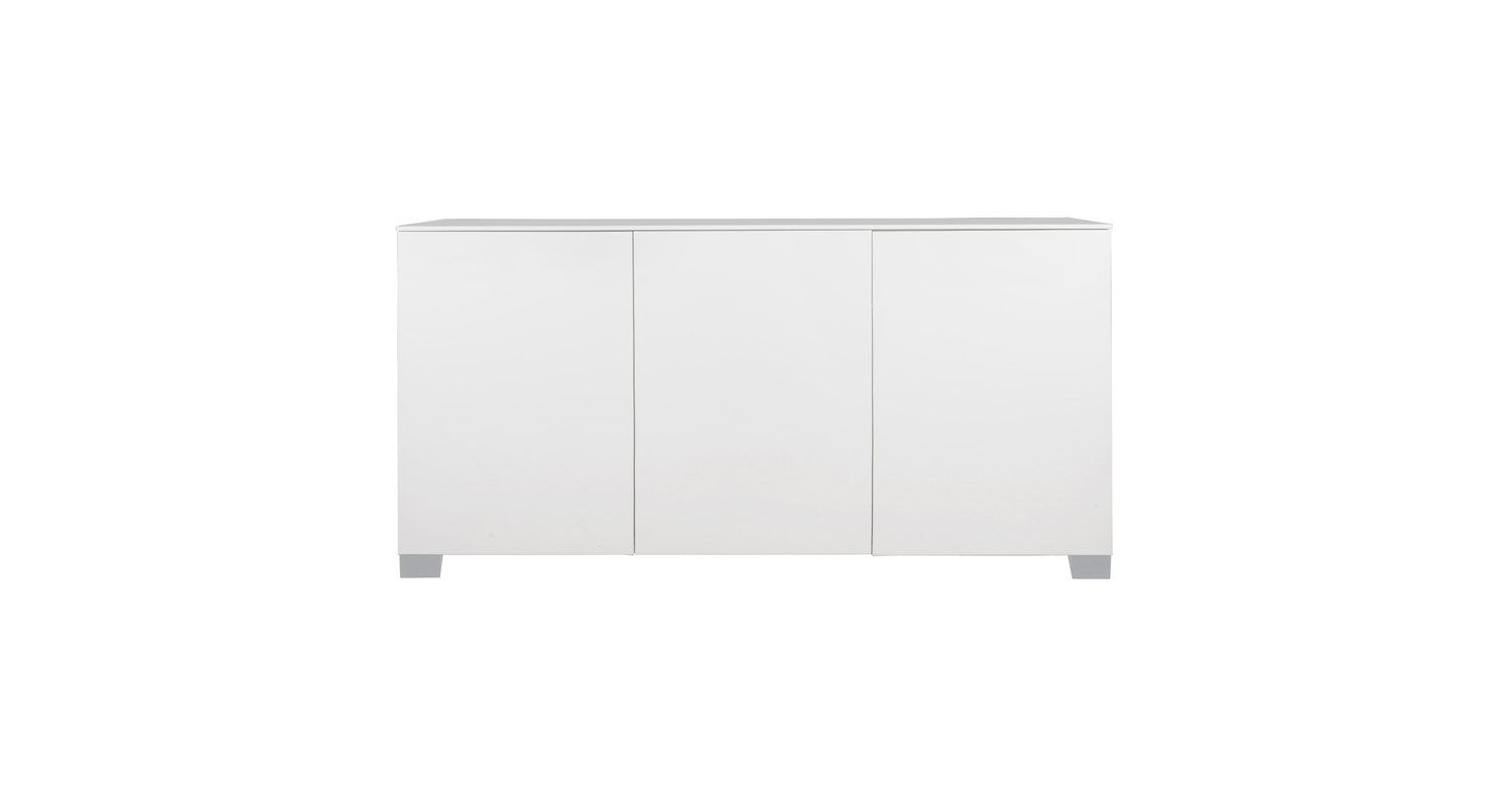 Heal's | Gloss Sideboard 3 Door White - Sideboards for Thite Sideboards (Image 14 of 30)