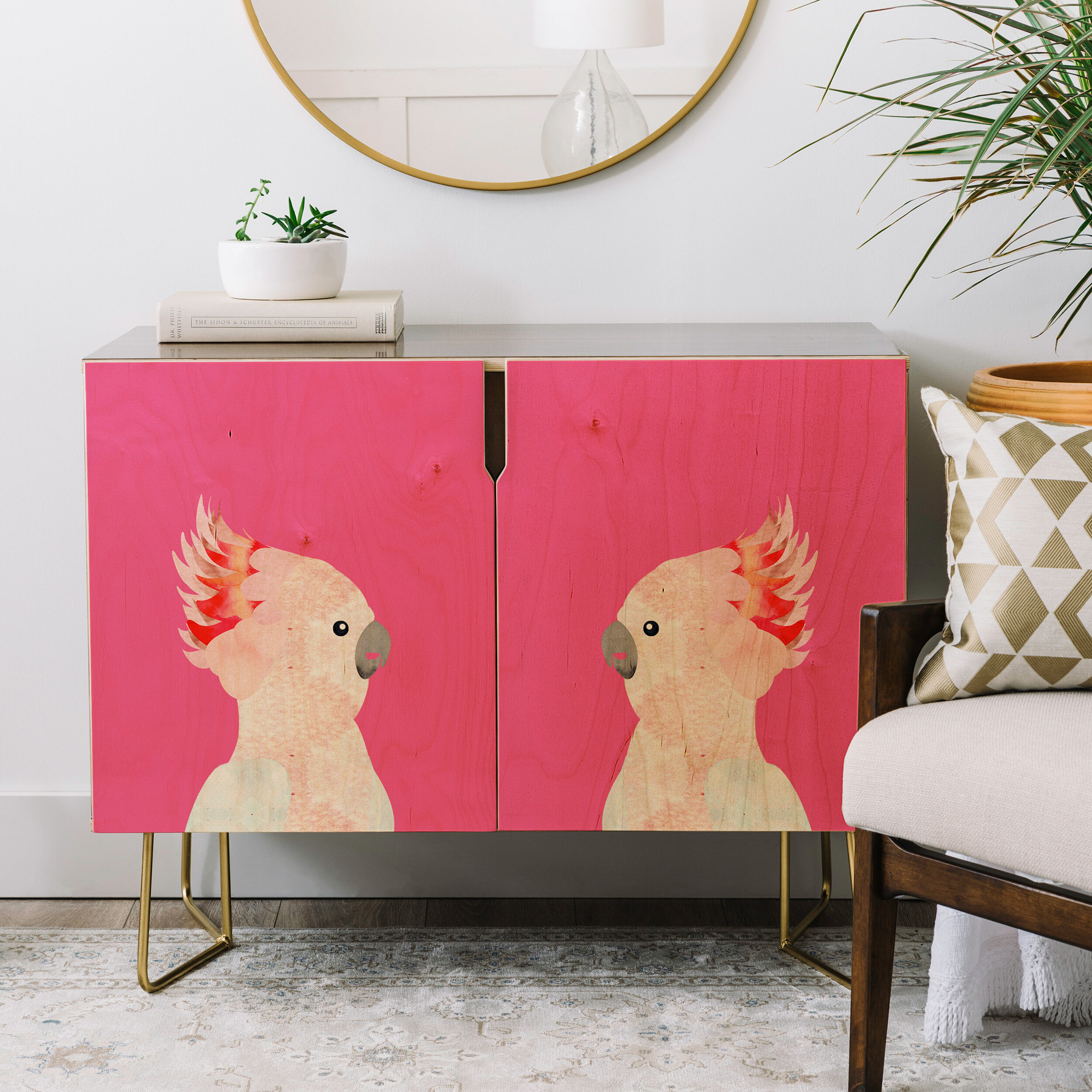 Hello Sayang Hello Polly Credenza regarding Multi Stripe Credenzas (Image 16 of 30)