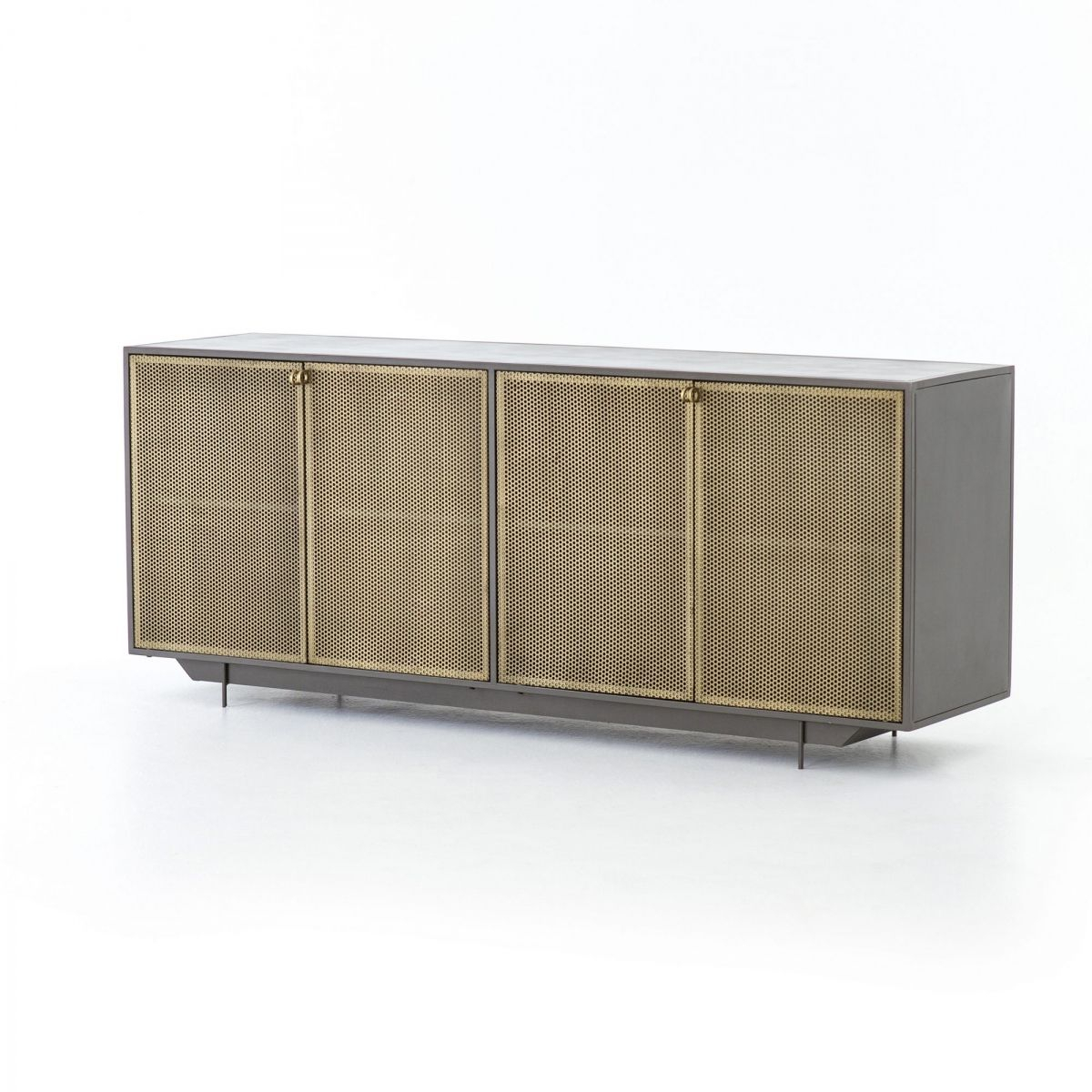 Hendrick Sideboard | Furniture And Accessories In 2019 Within Contemporary Wooden Buffets With Four Open Compartments And Metal Tapered Legs (View 15 of 30)