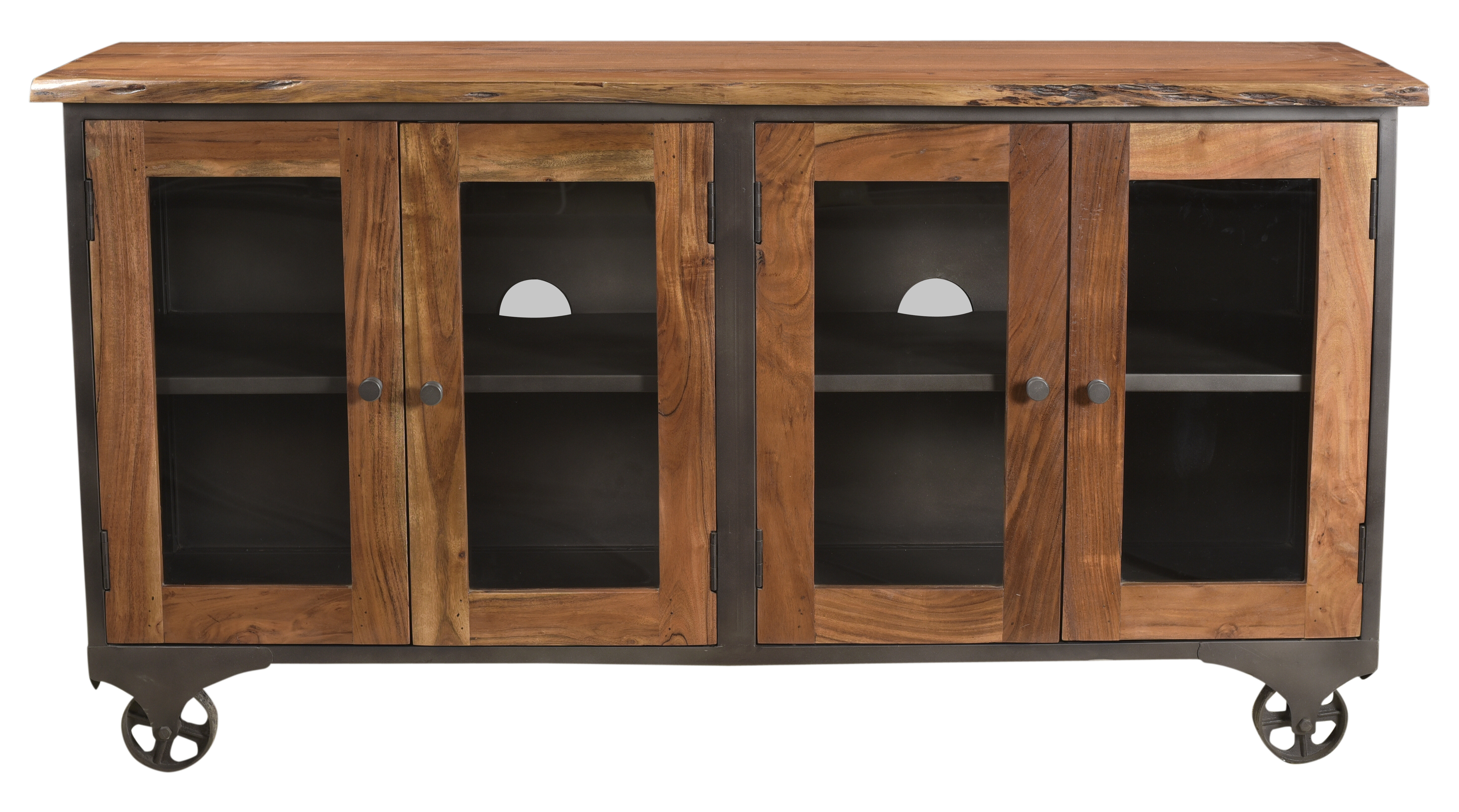Hessler Sideboard intended for Arminta Wood Sideboards (Image 11 of 30)