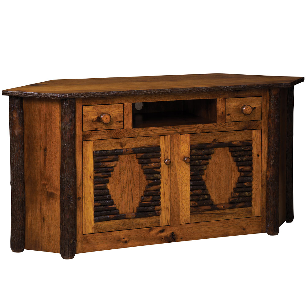 Hickory Amish Corner Entertainment Center In Summer Desire Credenzas (View 12 of 30)