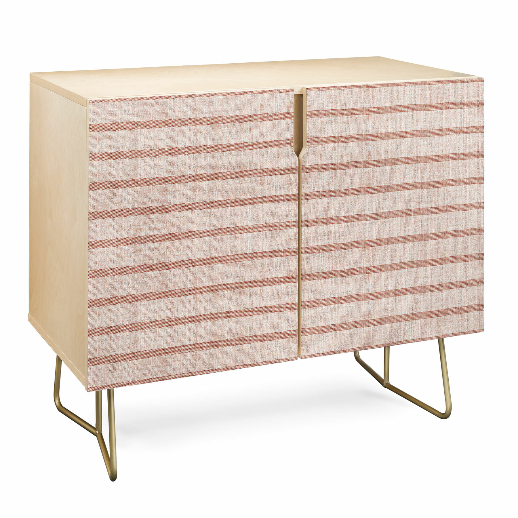 Holli Stripe Accent Cabinet with Multi Stripe Credenzas (Image 17 of 30)