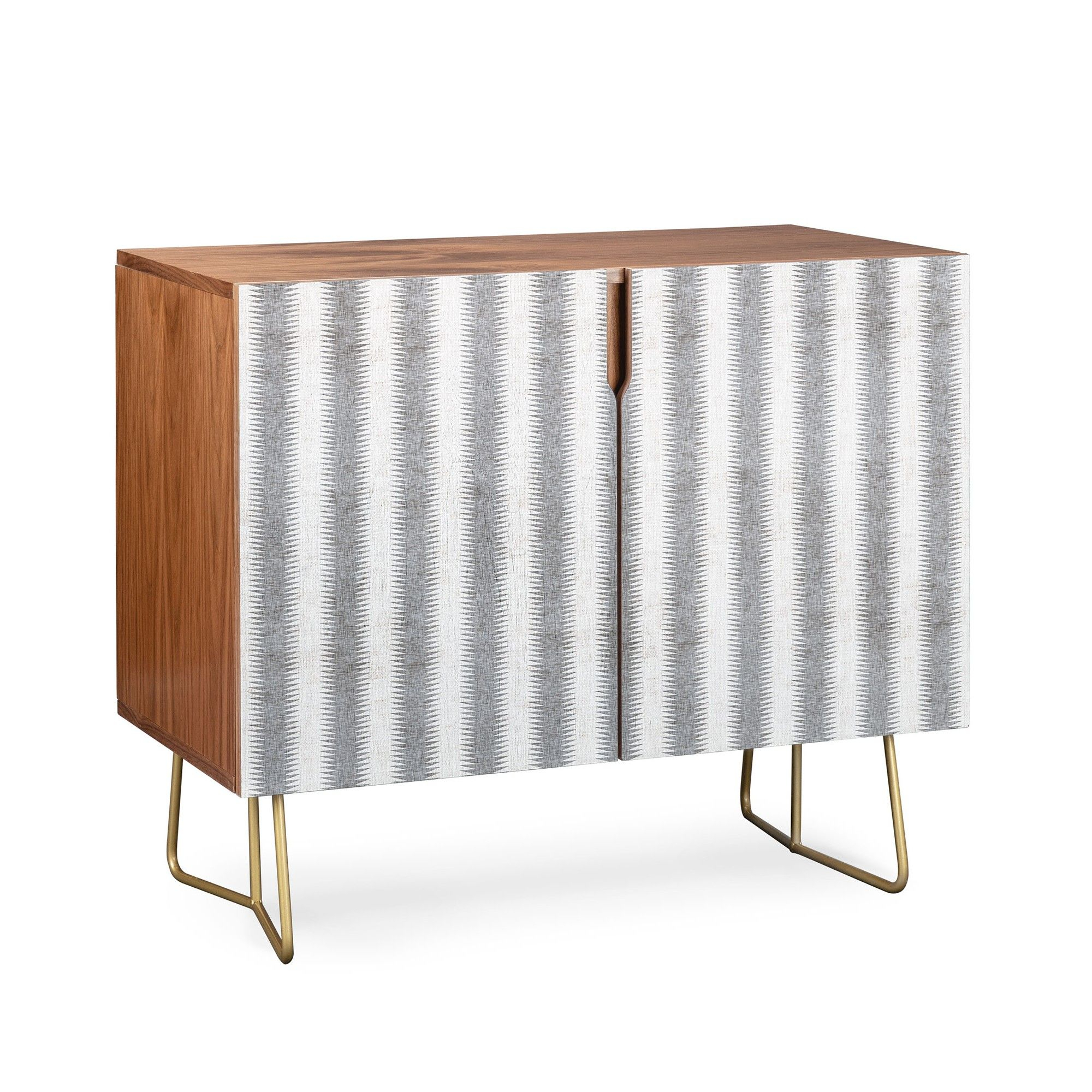 Holli Zollinger French Seaside Stripe Credenza Gold Legs pertaining to Multi Stripe Credenzas (Image 18 of 30)