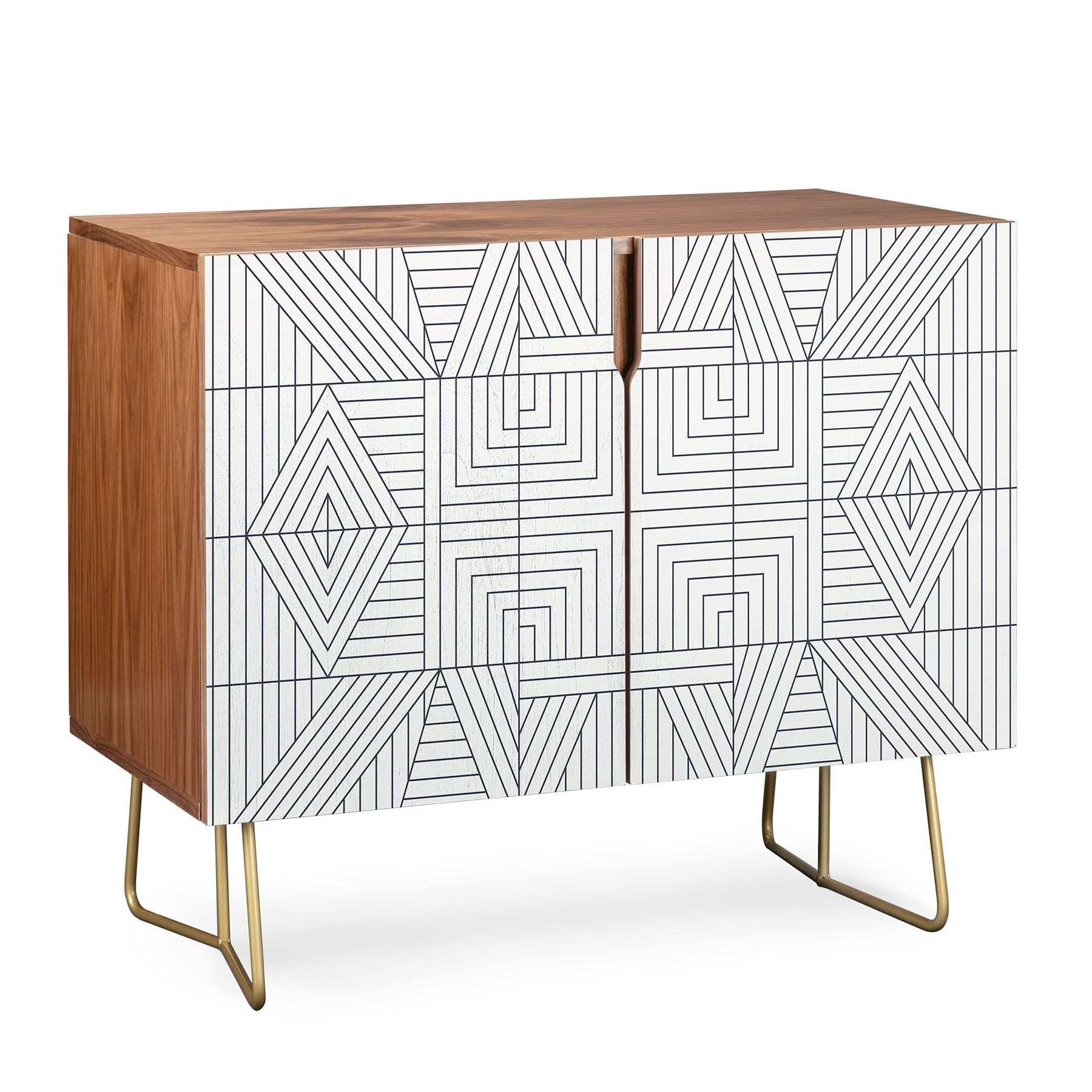 Holli Zollinger Line Mandala Credenza In 2019 | Dining Room With Stephen Credenzas (View 17 of 30)