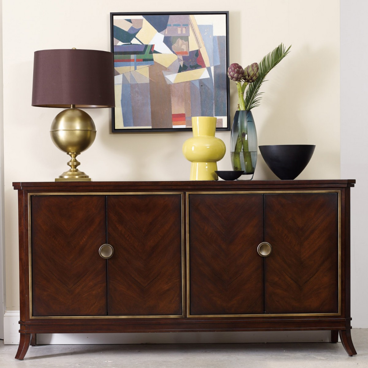 Hooker Furniture Palisade Four Door Chest With Regard To Palisade Sideboards (View 13 of 30)