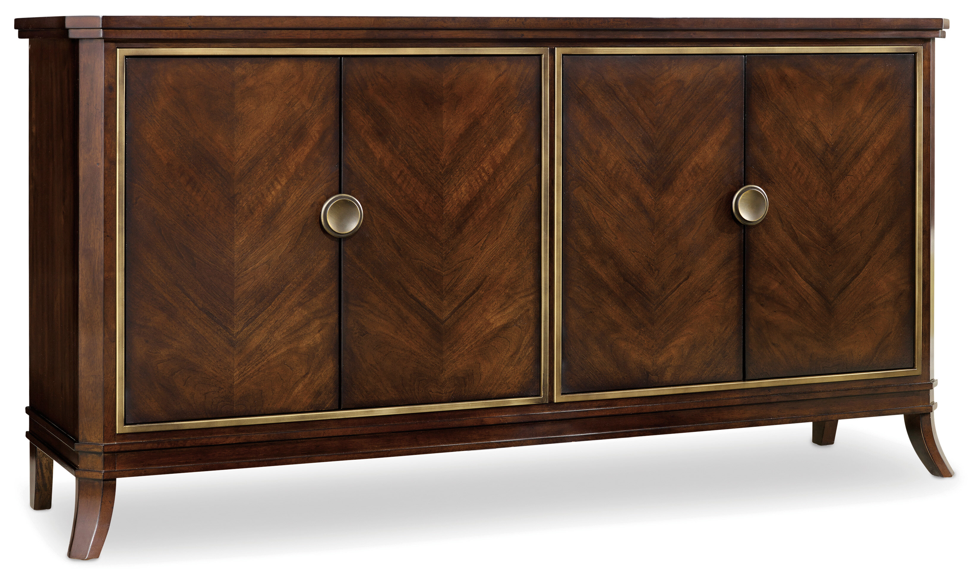 Hooker Furniture Palisade Sideboard & Reviews | Wayfair pertaining to Palisade Sideboards (Image 14 of 30)