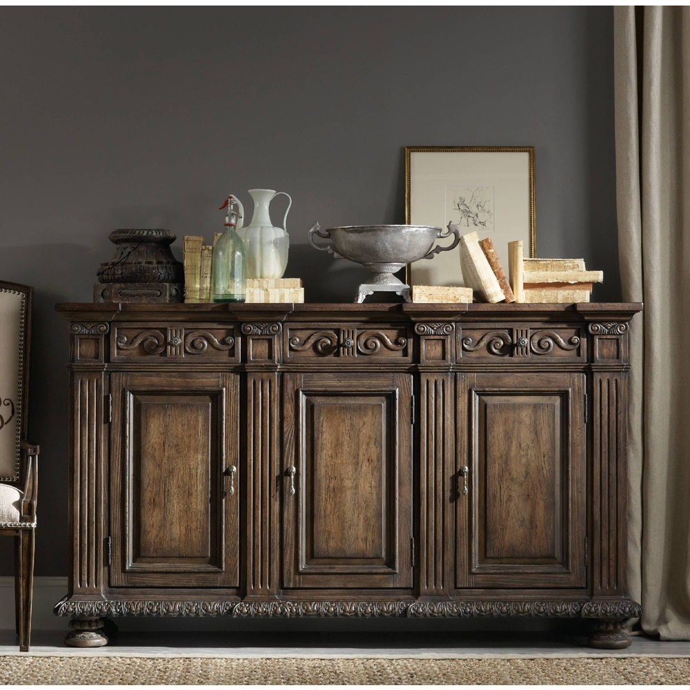 Hooker Furniture - Rhapsody 72'' Credenza - 5070-85001 with regard to Multi Stripe Credenzas (Image 20 of 30)