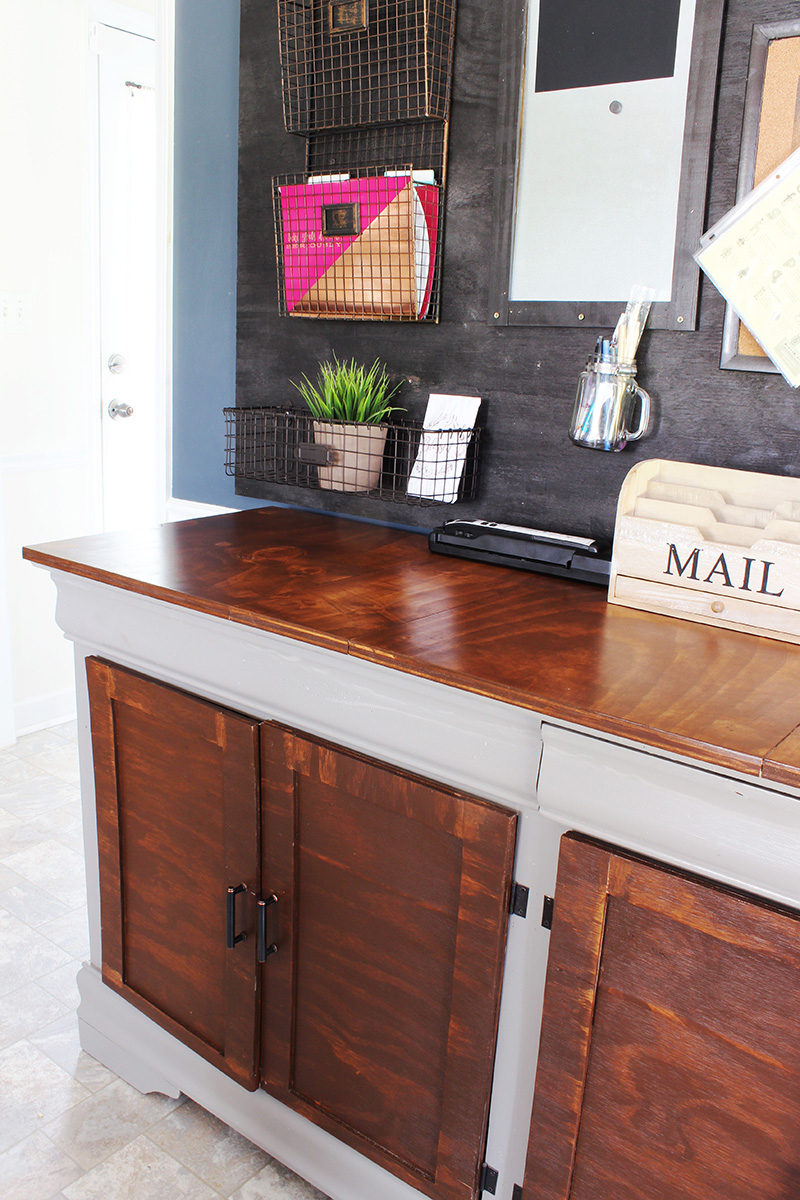How I Upcycled A Hand Me Down Dresser To A Beautiful Buffet With Regard To Medium Buffets With Wood Top (View 19 of 30)