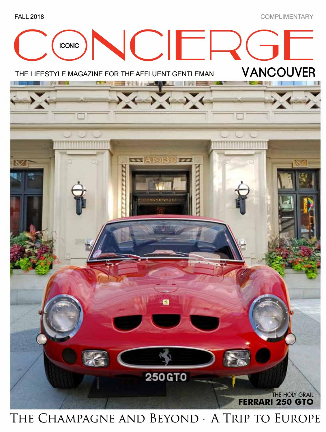 Iconic Concierge Vancouver Fall 2018Iconic Concierge In Simple Living Red Montego Buffets (View 11 of 30)