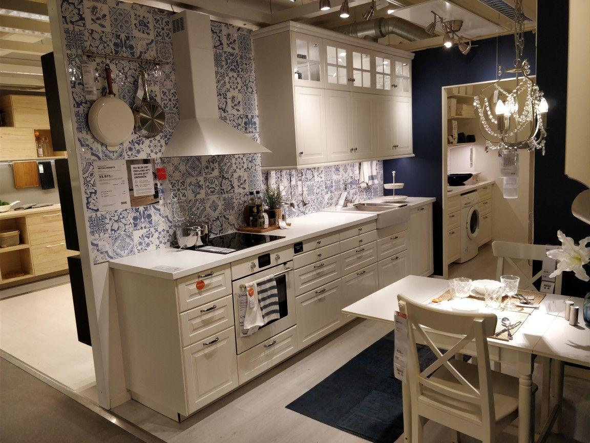 Ikea Bodbyn Vit Kök | Kitchen Ideas V Roku 2019 | Pinterest Throughout Southwestern Credenzas (View 7 of 12)