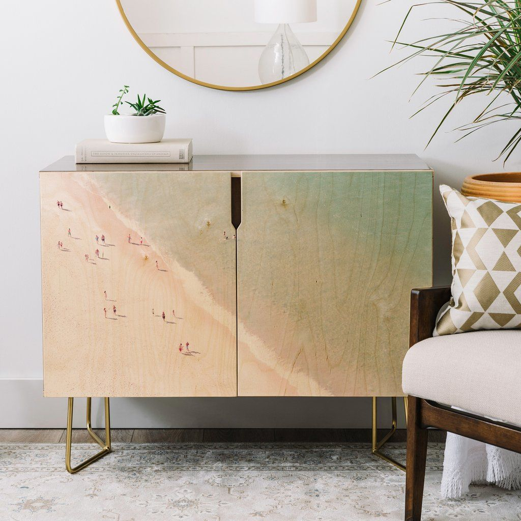 Ingrid Beddoes Beach Summer Of Love Credenza | Furniture With Beach Stripes Credenzas (View 10 of 30)
