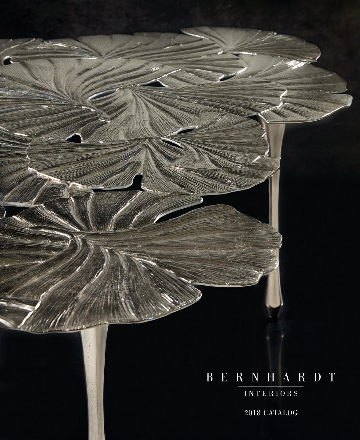 Interiors 2018 Catalogbernhardt - Issuu in Candide Wood Credenzas (Image 18 of 30)
