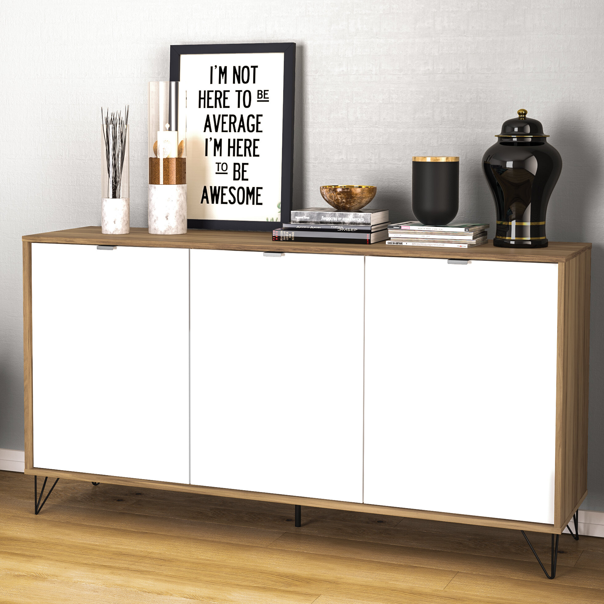 Ipswich Sideboard Within Keiko Modern Bookmatch Sideboards (View 10 of 30)
