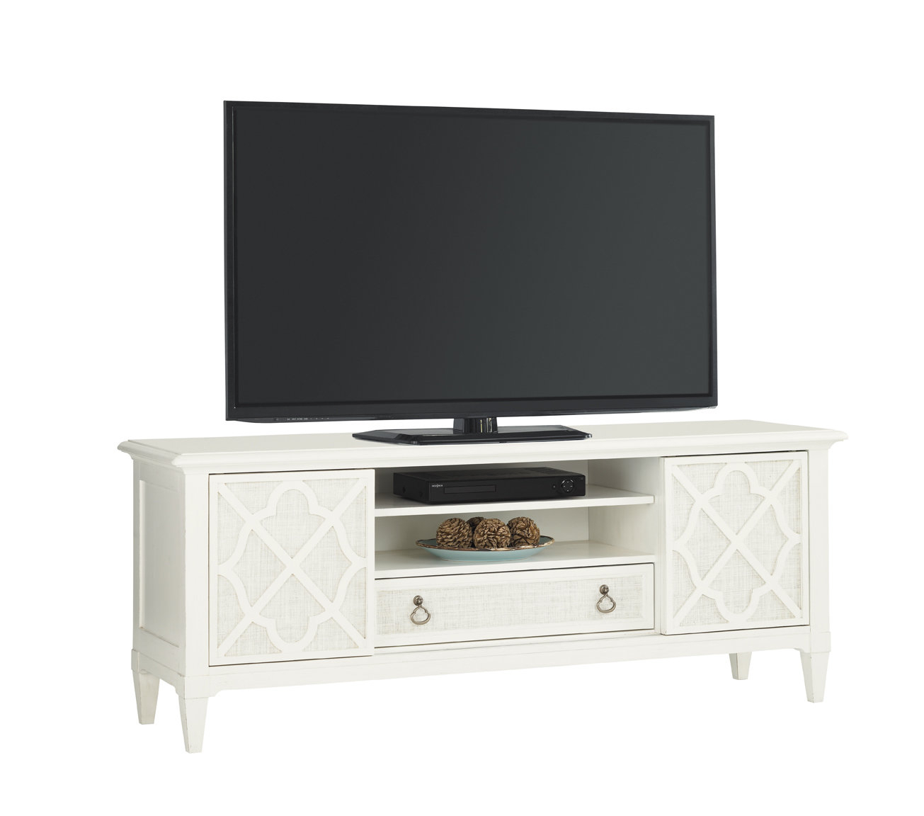 """Ivory Key Tv Stand For Tvs Up To 70"""" Regarding Parmelee Tv Stands For Tvs Up To 65"""" (View 8 of 30)"""