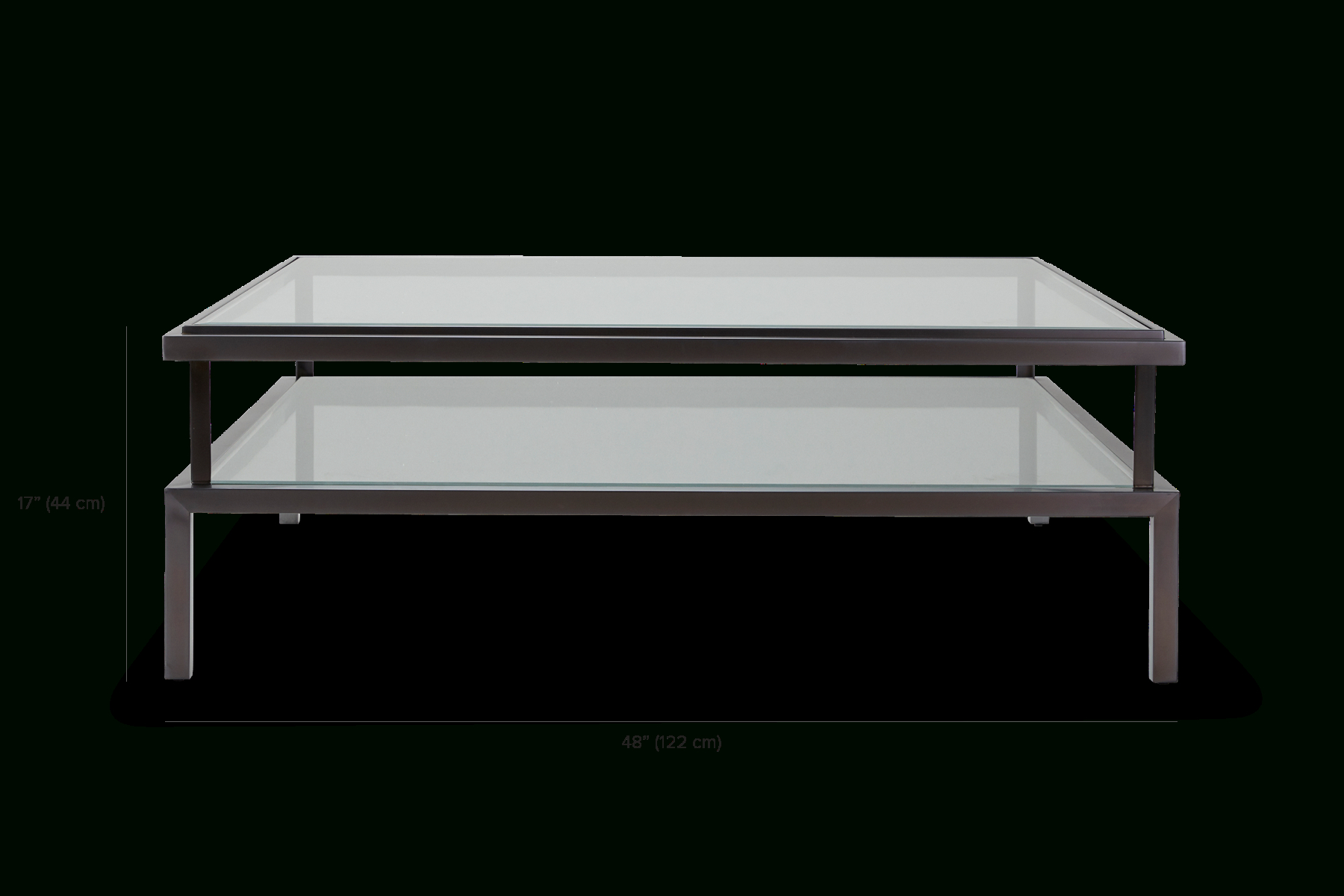 Janssen With Contemporary Three Tier Glass Buffets With Black Metal Frame (View 9 of 30)