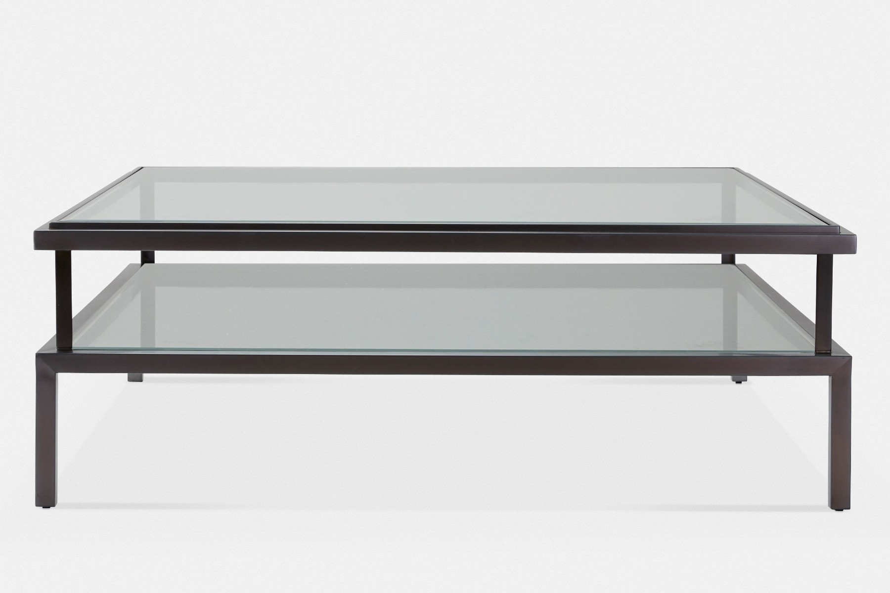 Janssen Within Contemporary Three Tier Glass Buffets With Black Metal Frame (View 10 of 30)