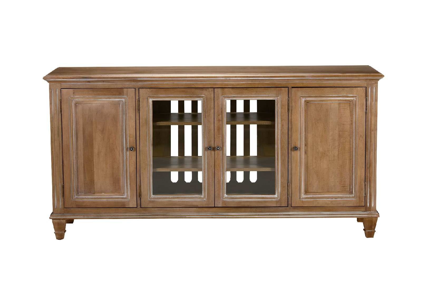 Jason Buffet With Glass Doors Buffets Sideboards Servers With Espresso Sliding Door Stackable Buffets (View 11 of 30)