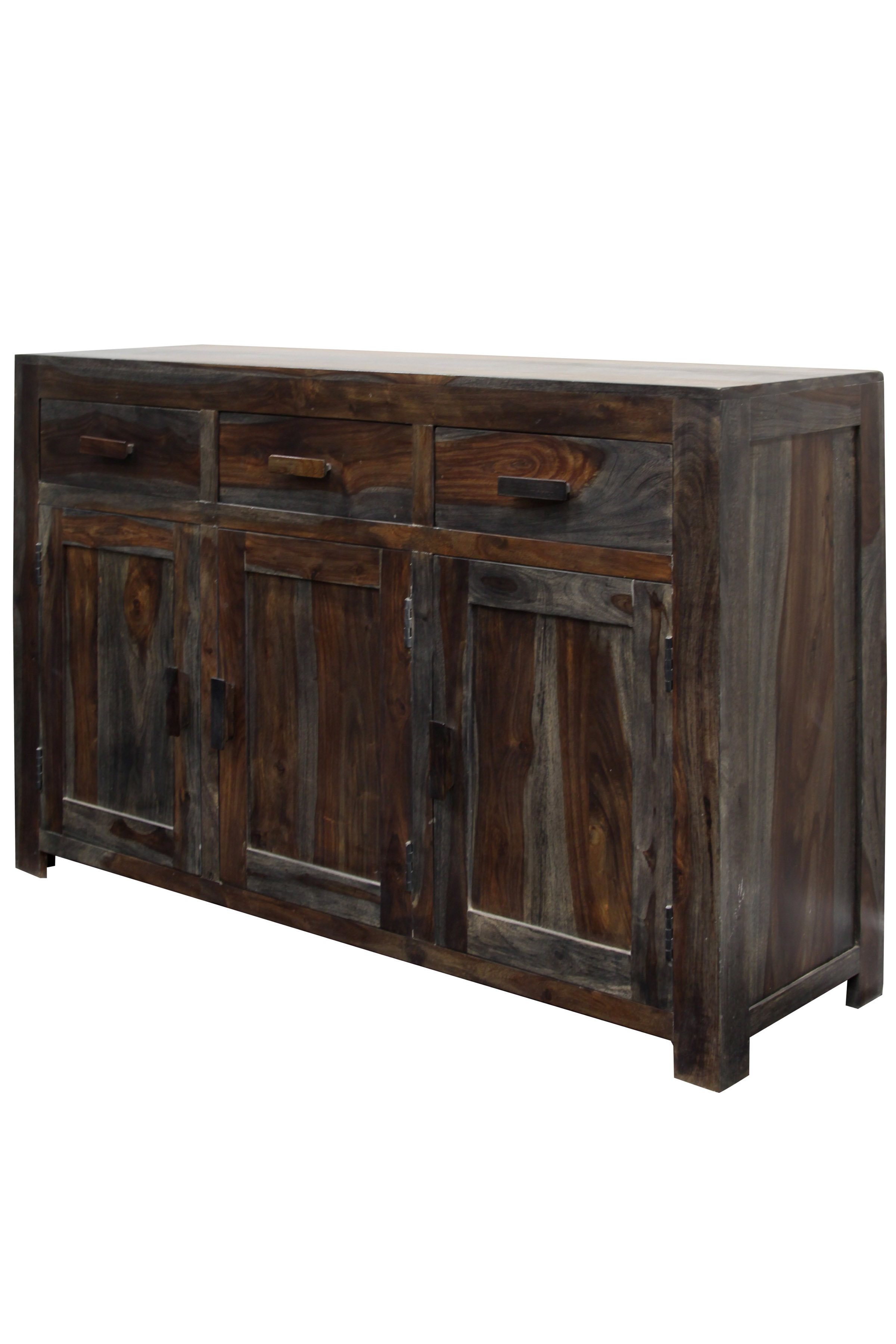 Keeney 3 Door Sideboard | Wayfair for Jacklyn 3 Door Sideboards (Image 16 of 30)