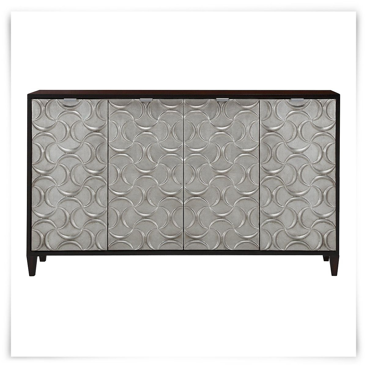 Kellan Silver Credenza | It's So Pretty!! | Credenza Within Ethelinda Media Credenzas (Photo 16 of 30)