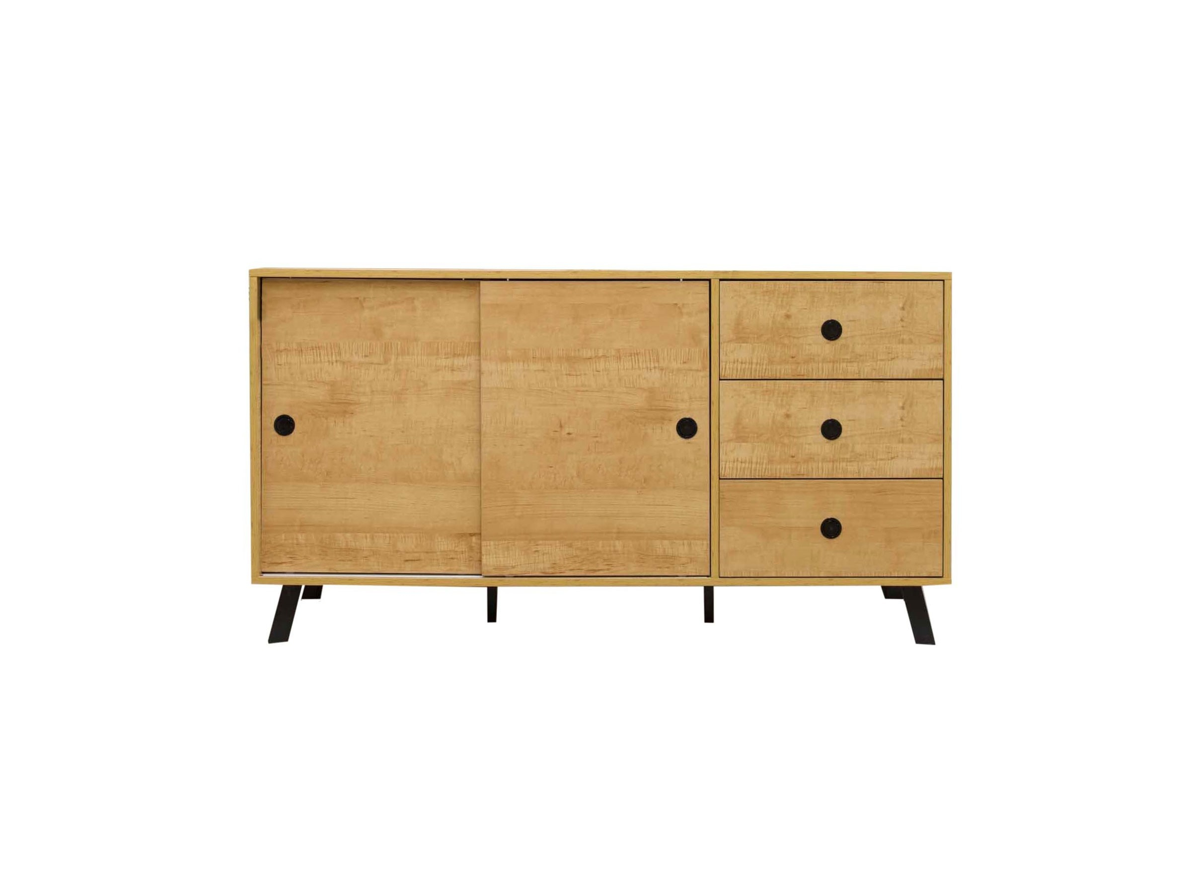 Kirra Buffet Pertaining To Contemporary Wooden Buffets With One Side Door Storage Cabinets And Two Drawers (View 21 of 30)