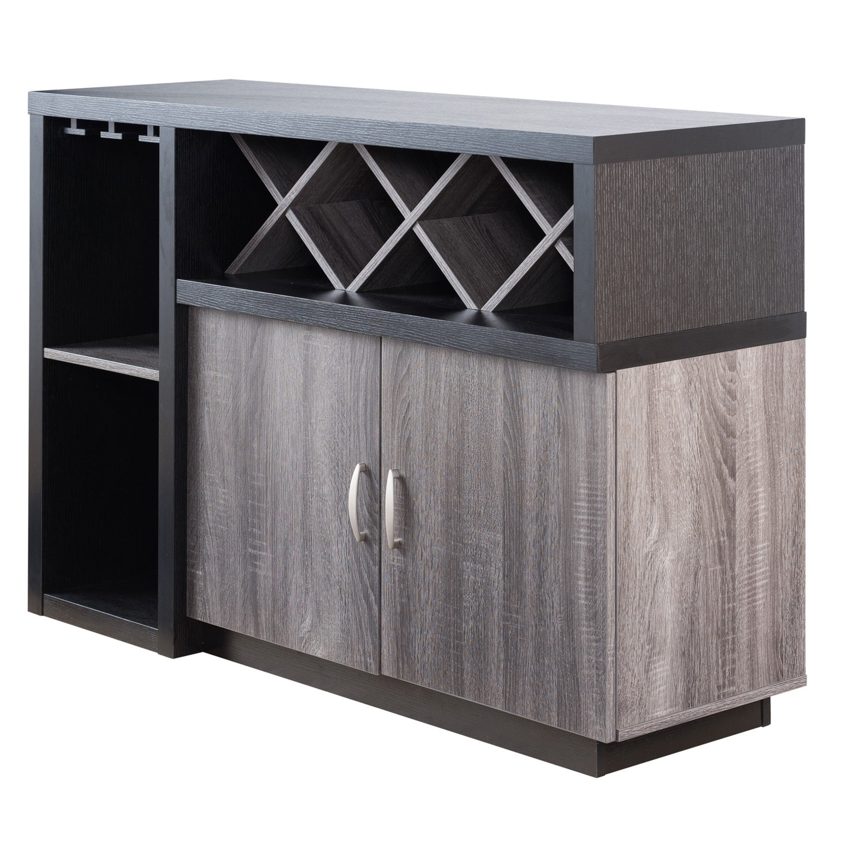 Lantana Contemporary Distressed Grey Buffetfoa In Contemporary Distressed Grey Buffets (View 14 of 30)