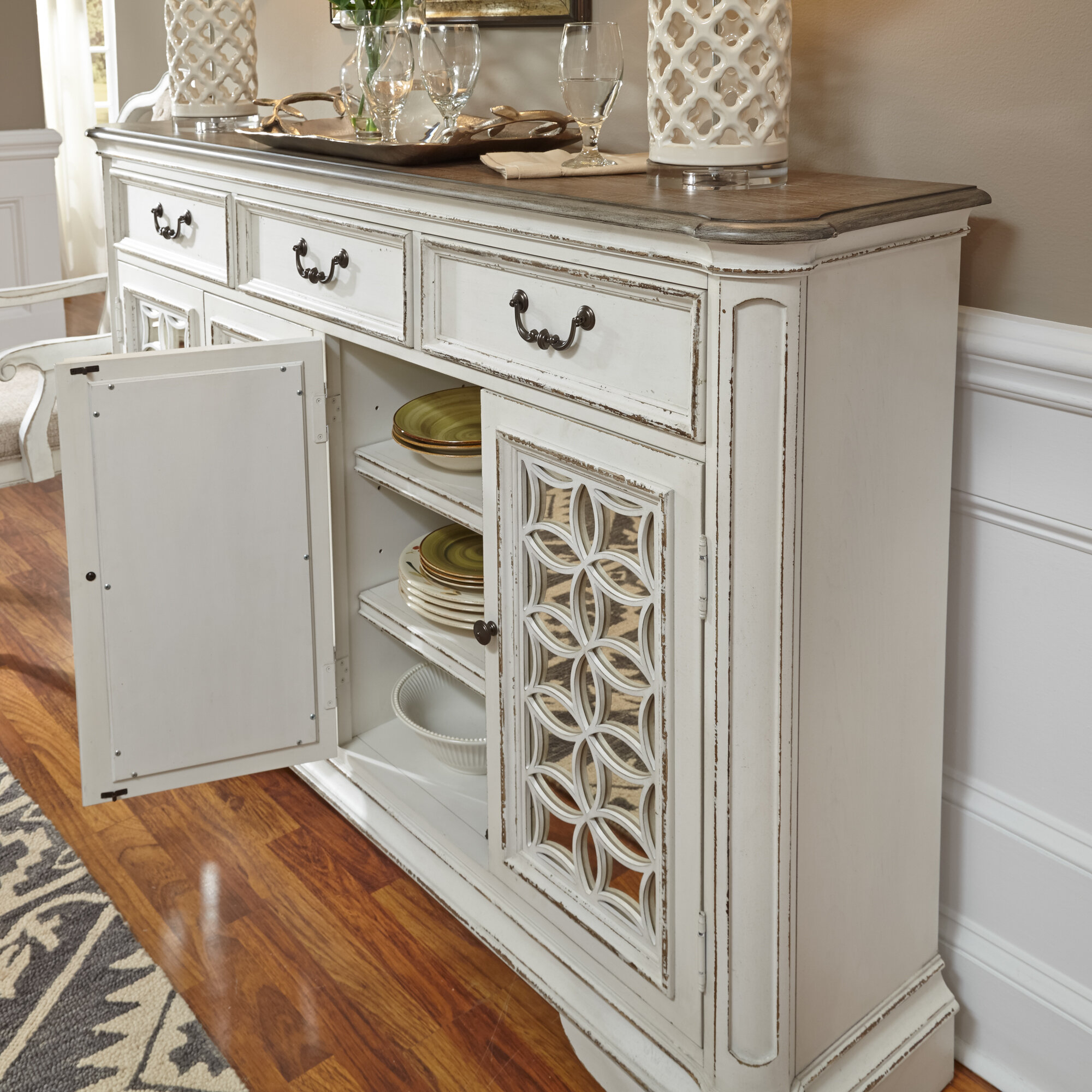 Lark Manor Tiphaine Sideboard Regarding Tiphaine Sideboards (View 9 of 30)