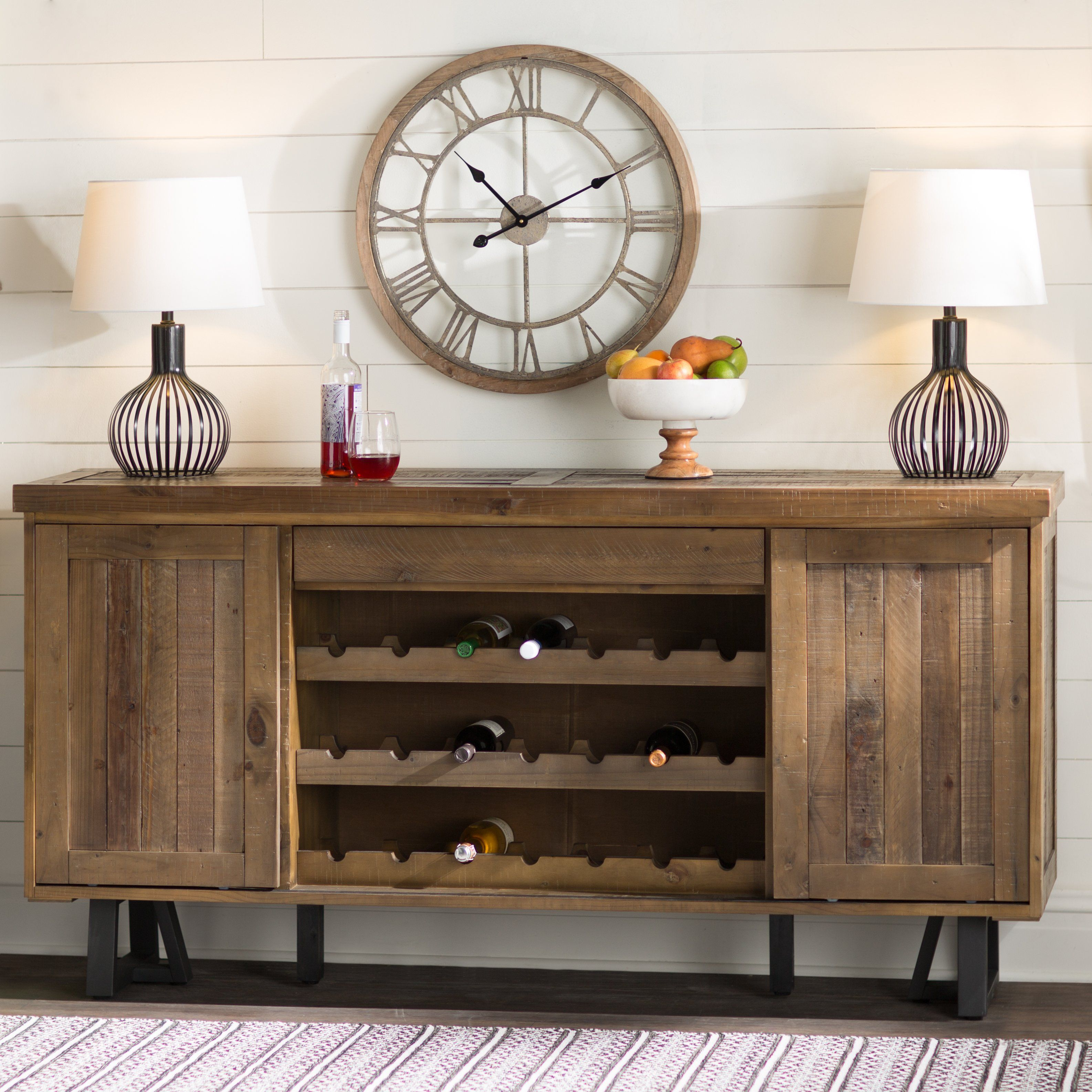 Laurel Foundry Modern Farmhouse Adell Credenza | Bellingham within Avenal Sideboards (Image 22 of 30)