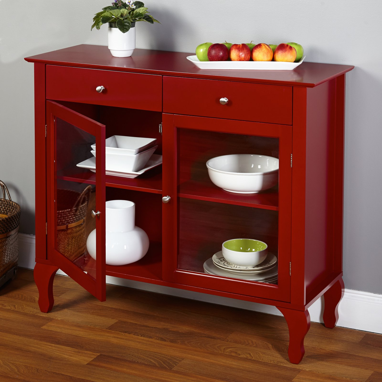 Layla 2 Drawer Buffet, Multiple Colors Pertaining To Multi Shelf Corner Buffets (View 14 of 30)