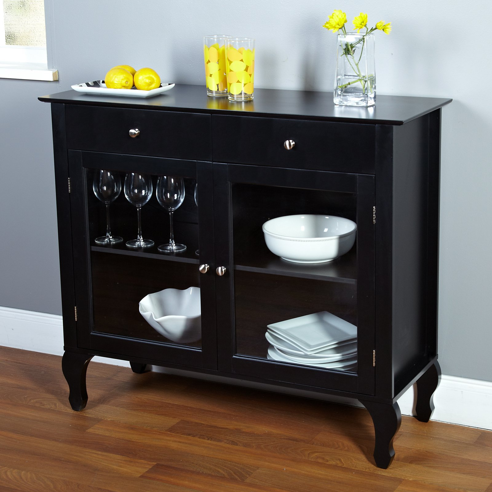 Layla 2 Drawer Buffet, Multiple Colors Throughout Simple Living Layla Black Buffets (View 4 of 30)