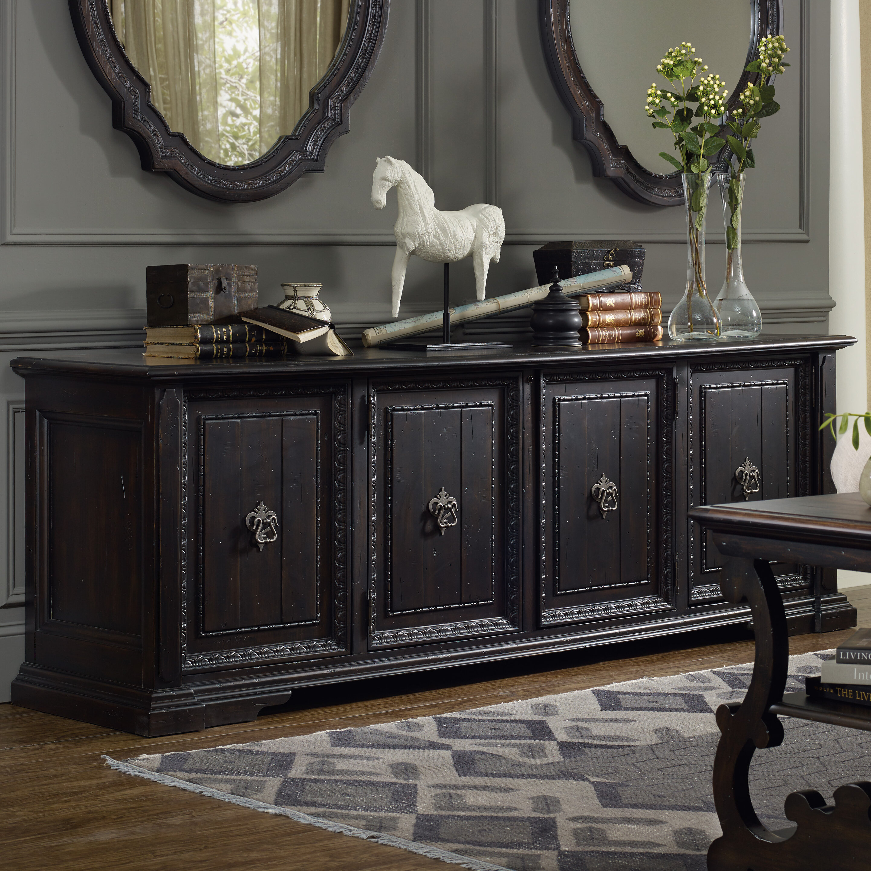Leigh Woods Sideboard & Reviews   Joss & Main For Haroun Mocha Sideboards (View 19 of 30)