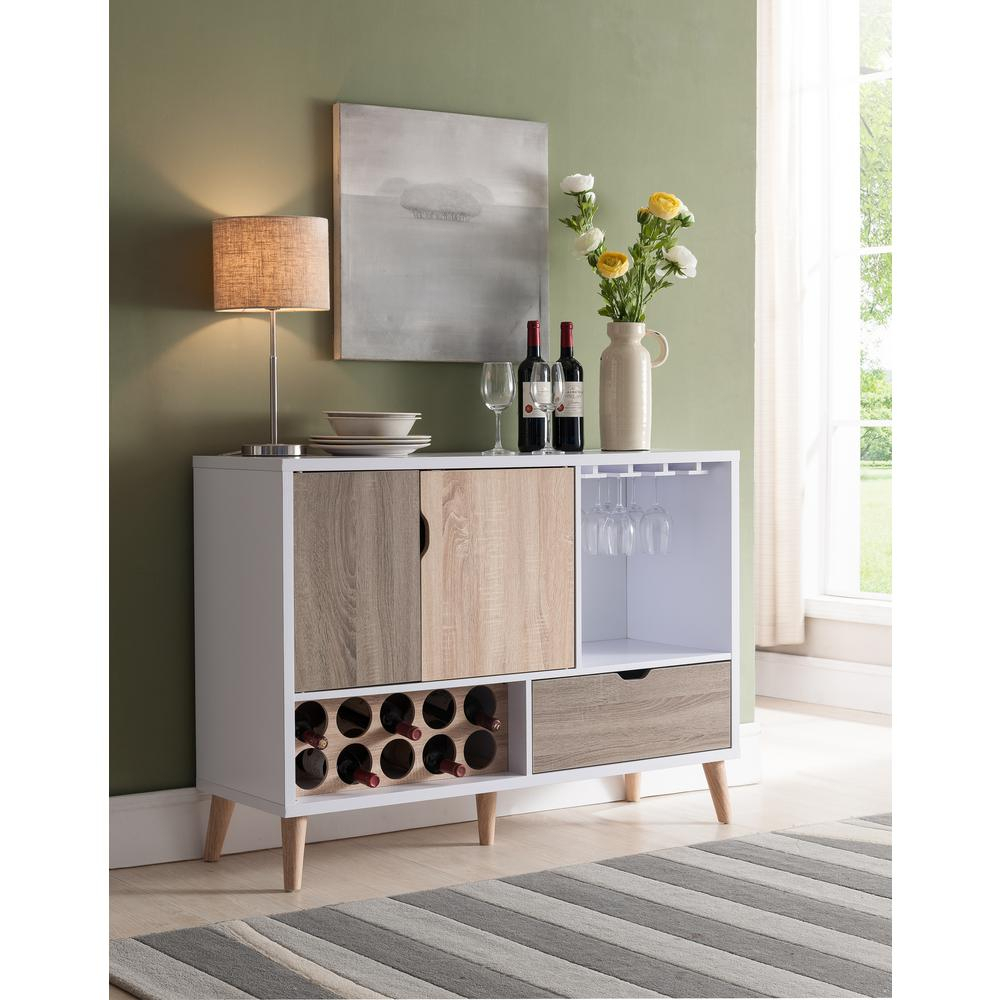 Lelor Multi Colored Buffet For Contemporary Multi Storage Dining Buffets (View 26 of 30)