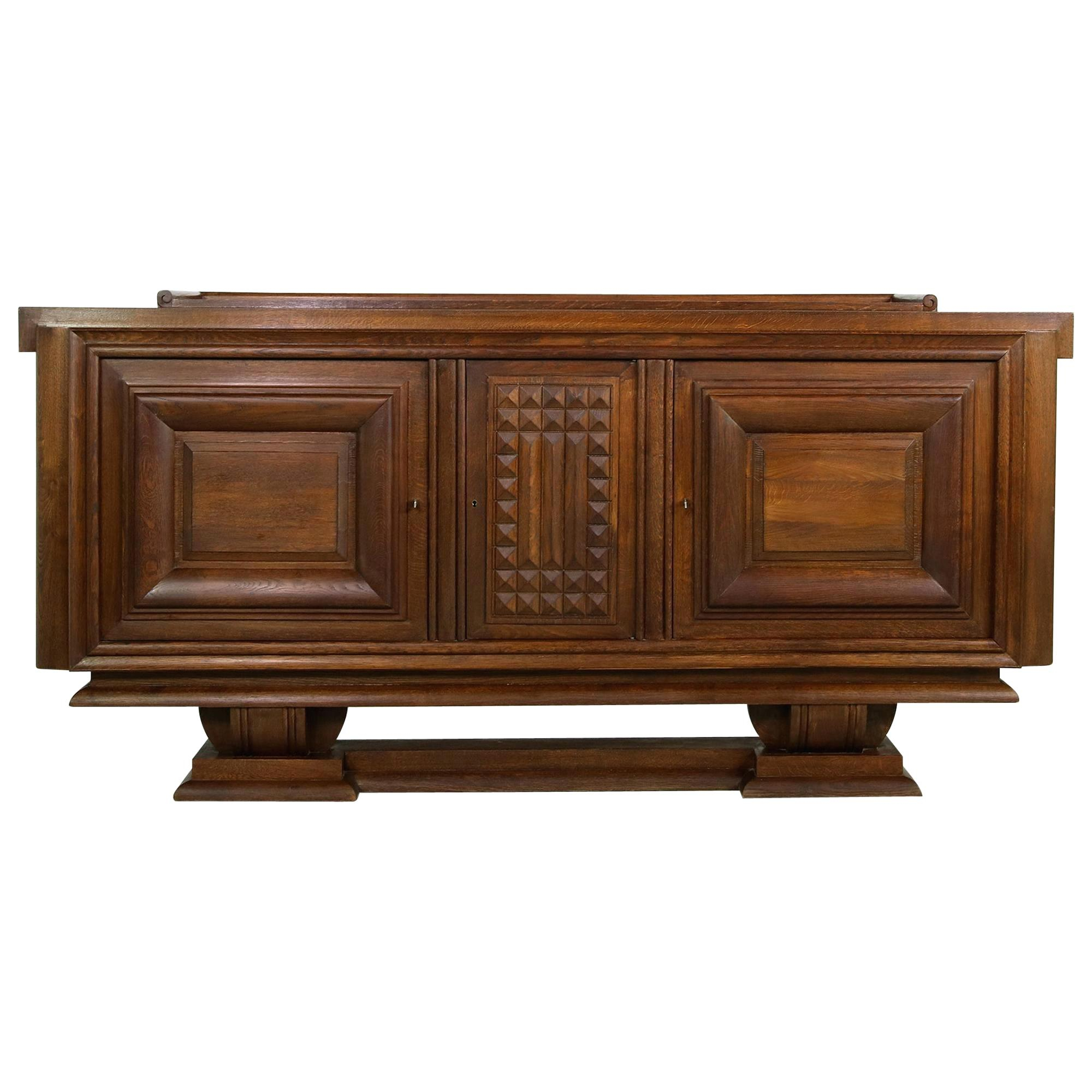 Likable Large Credenza Sideboard Furniture Outlet Chicago With Regard To South Miami Sideboards (View 18 of 30)