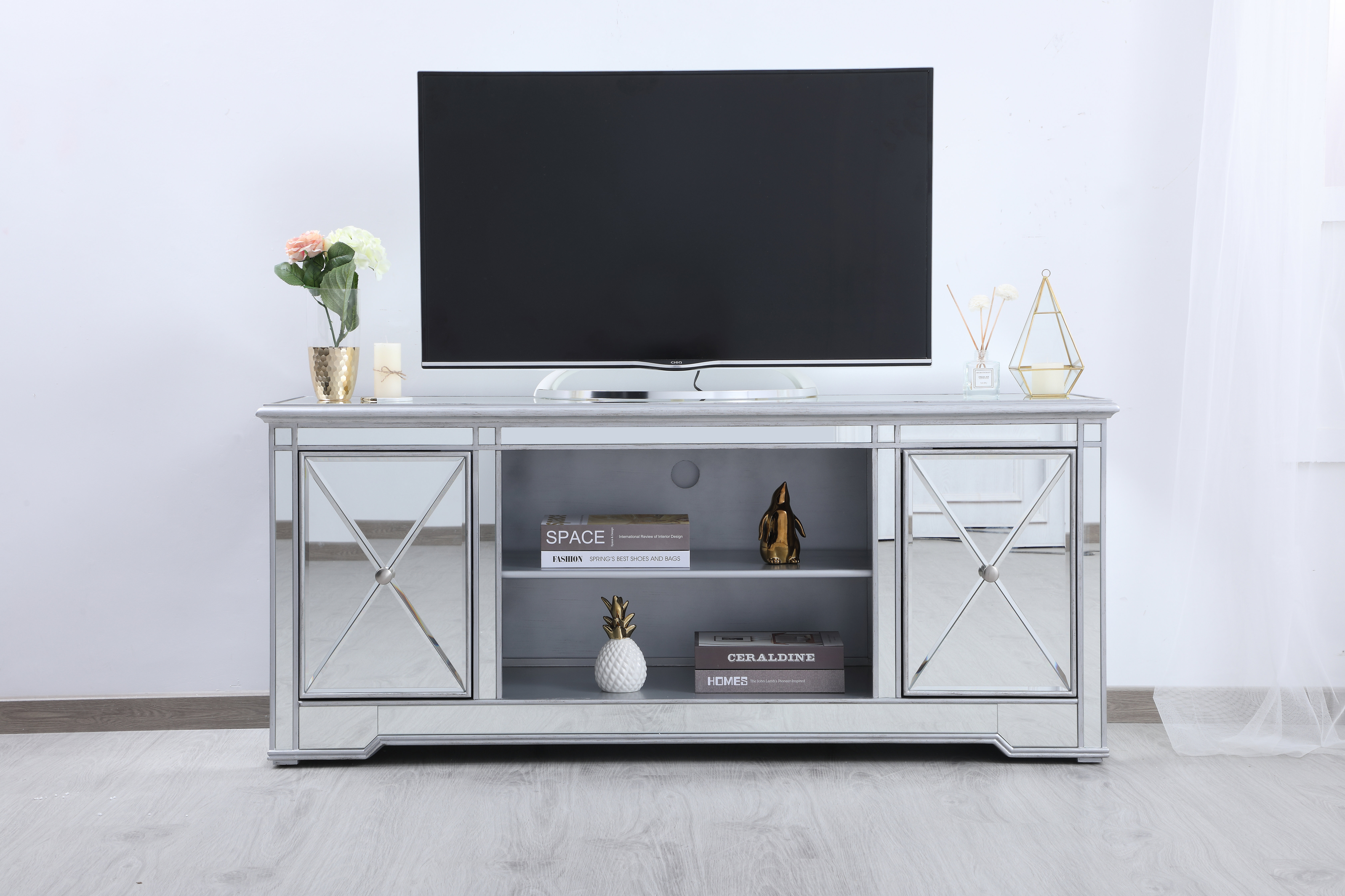 """Lilianna Tv Stand For Tvs Up To 60"""" Intended For Parmelee Tv Stands For Tvs Up To 65"""" (View 5 of 30)"""