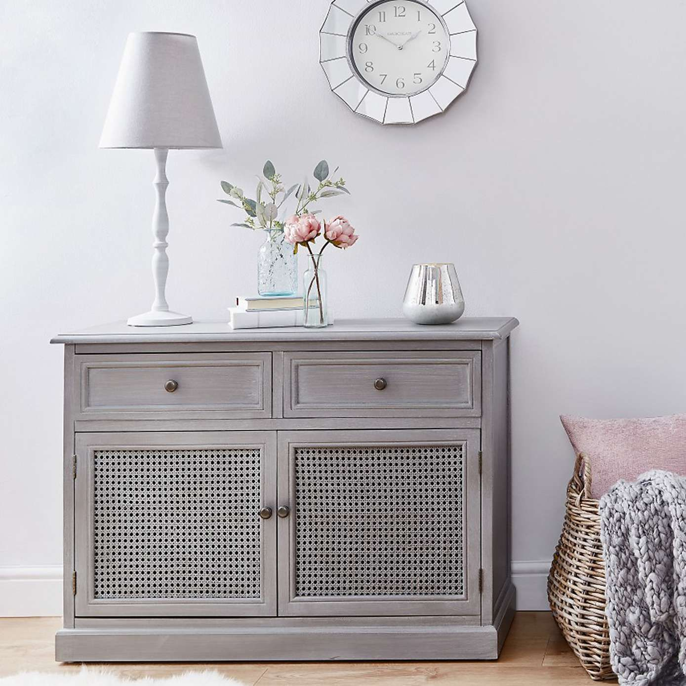 Lucy Cane Grey Small Sideboard | Living Room Ideas In 2019 For Upper Stanton Sideboards (View 15 of 30)