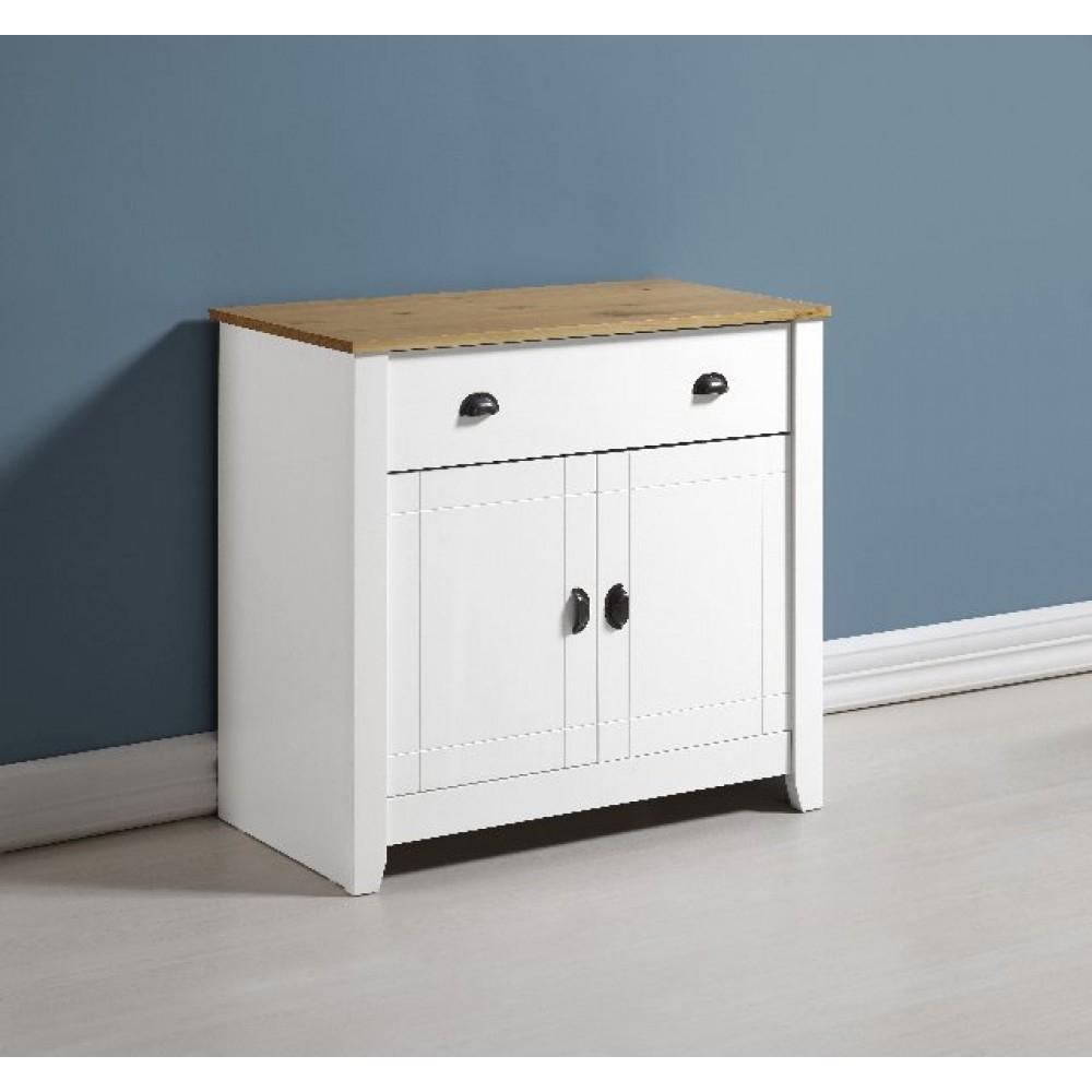 Ludlow Sideboard In White/oak regarding Thite Sideboards (Image 16 of 30)