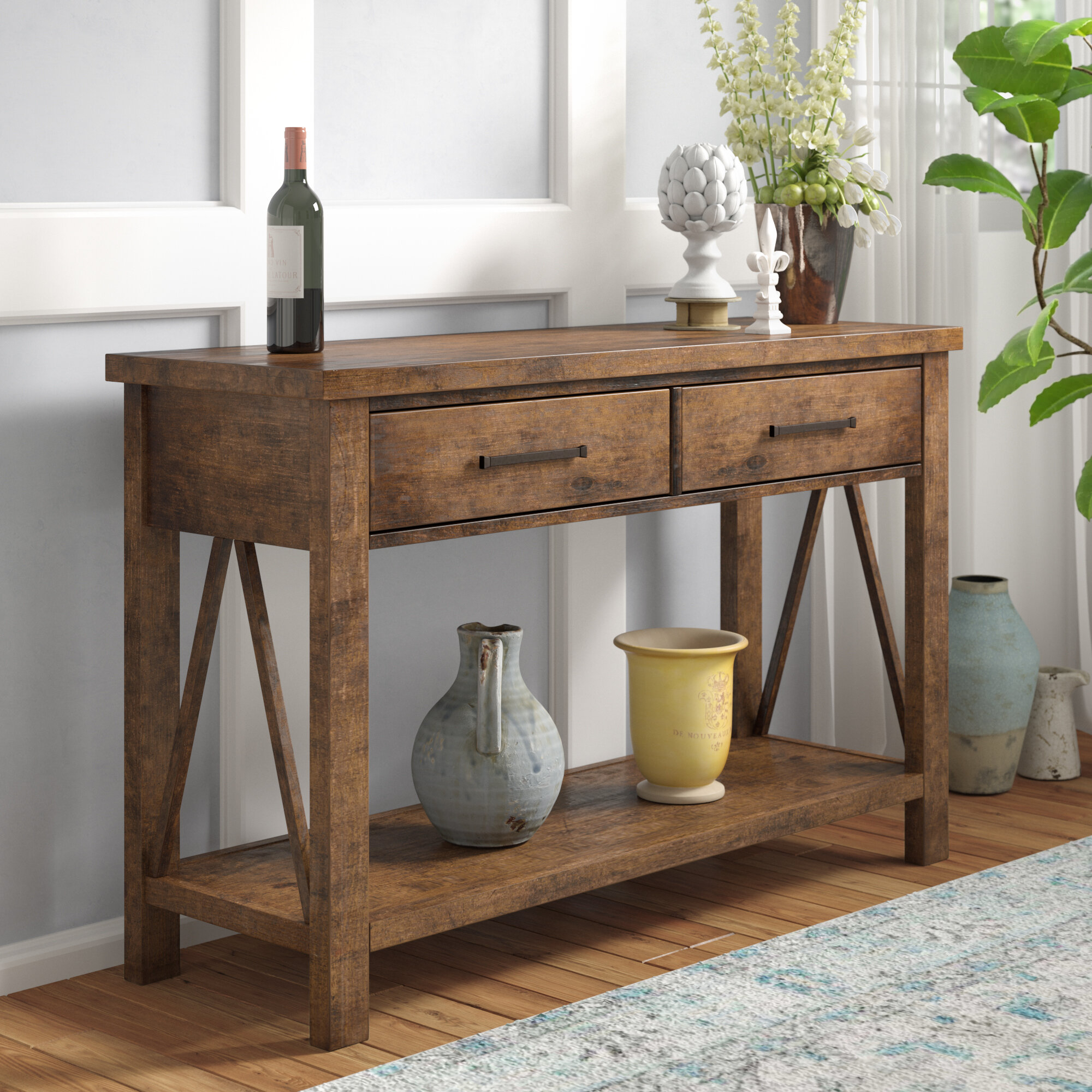 Madeline Group Dining Buffet for Rustic Walnut Dining Buffets (Image 23 of 30)