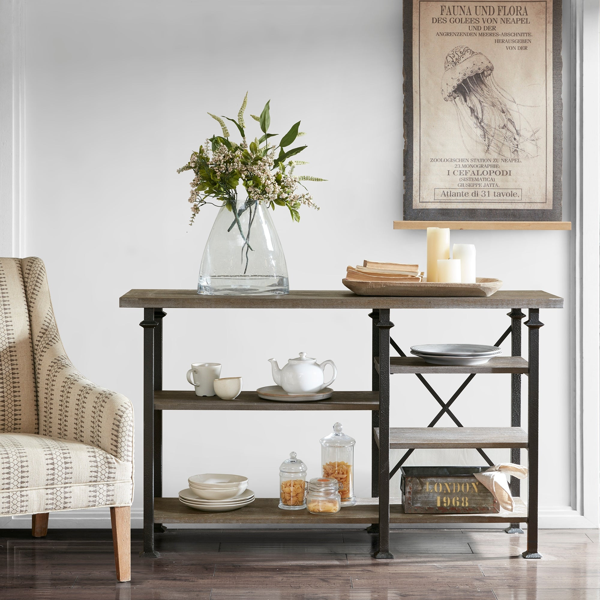 Featured Photo of Madison Park Kagen Grey Sideboards
