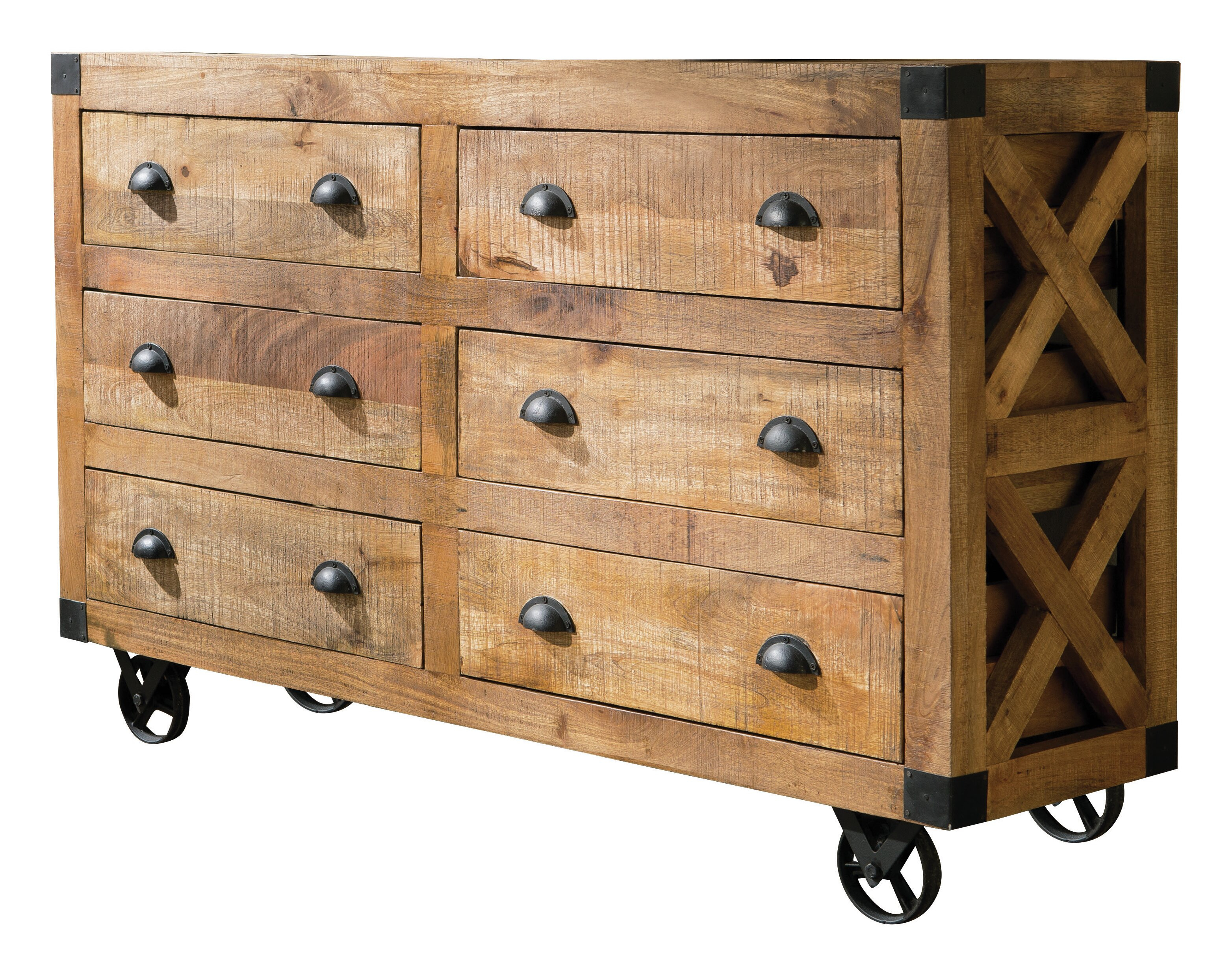 Mango Wood Sideboards & Buffets You'll Love In 2019 | Wayfair pertaining to Arminta Wood Sideboards (Image 15 of 30)