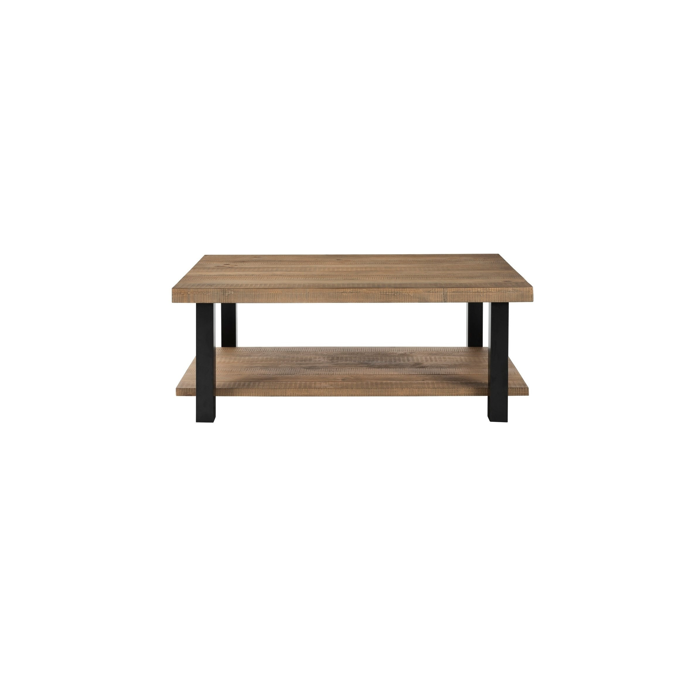 Martin Svensson Home Foundry Reclaimed Natural Finish Pine Wood Metal 48 Inch Coffee Table With Regard To Sideboards By Foundry Select (View 22 of 30)