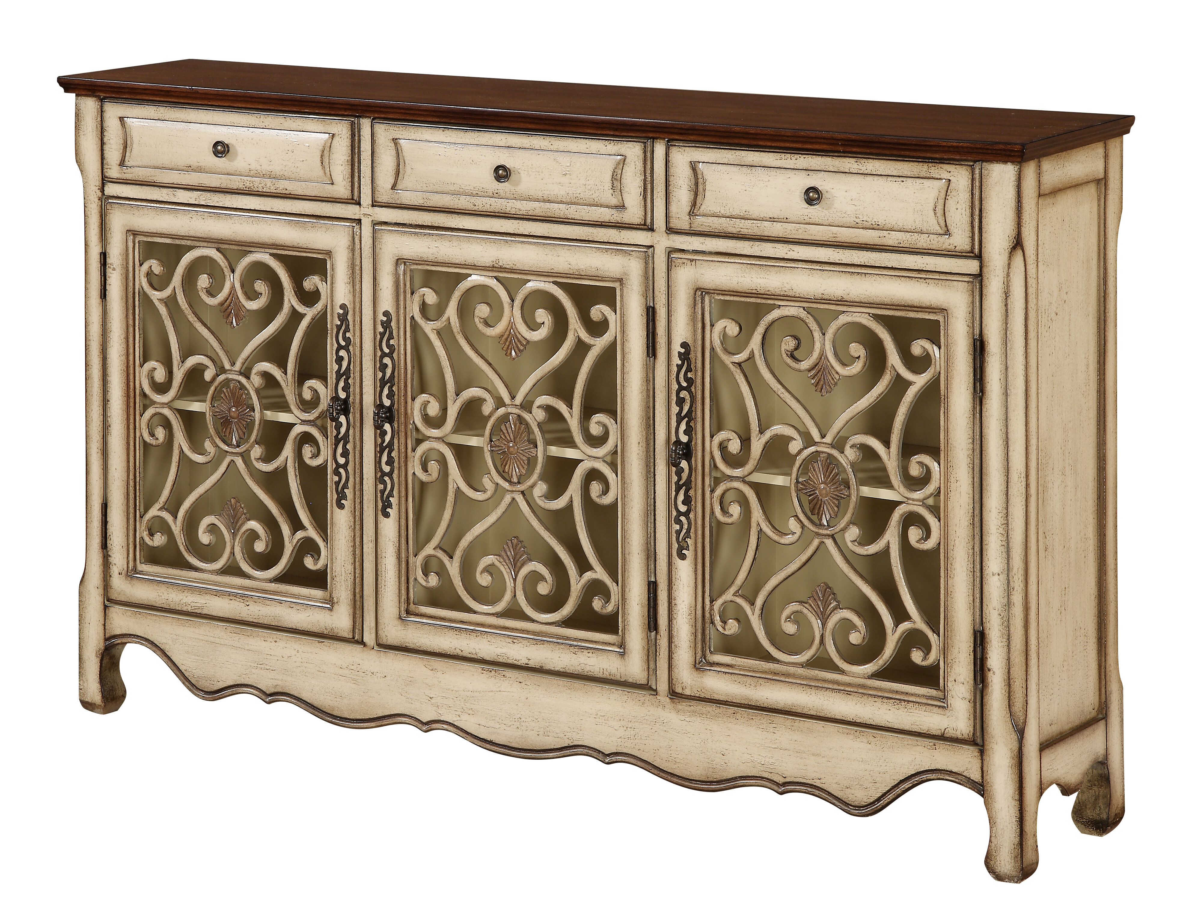 Mauzy Sideboard with Kronburgh Sideboards (Image 24 of 30)