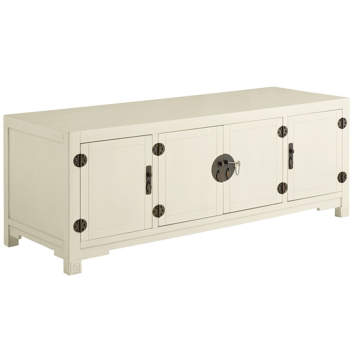 Mei Tv Stand - Antique White | Pier 1 Imports | Wish I Were for Knoxville Sideboards (Image 23 of 30)