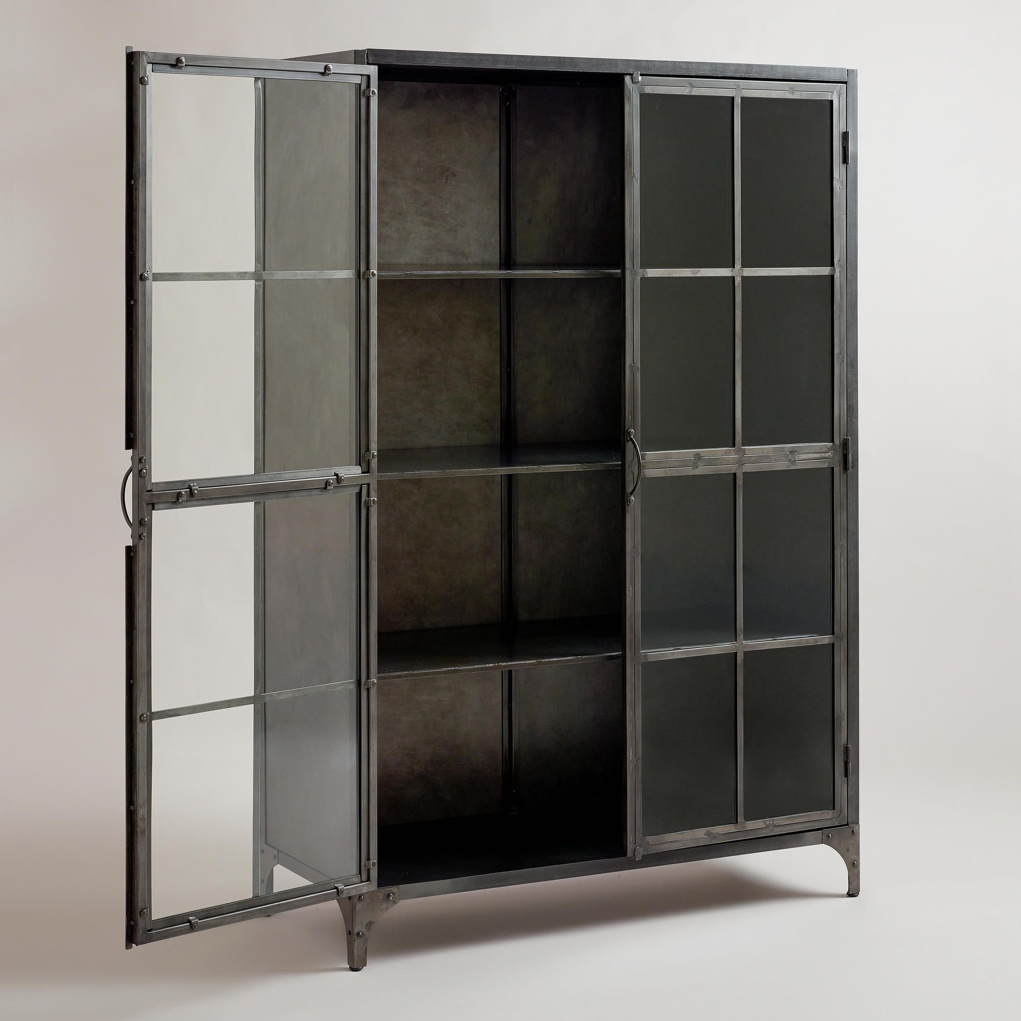 Metal Display Cabinet | World Market $ (View 15 of 30)