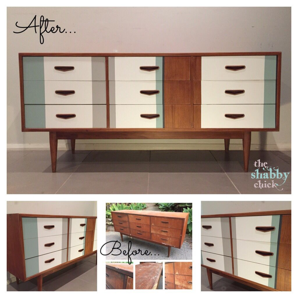 Mid Century Modern / Retro Modern Parker Chiswell Buffet With Mid Century White Buffets (View 5 of 30)