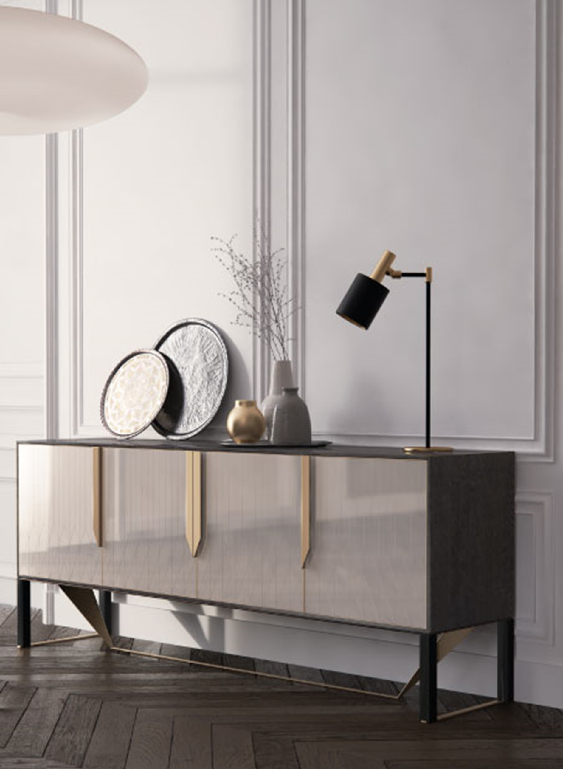 Modern Buffet Table | Chester | Sideboard Furniture, Home in Modern Natural Oak Dining Buffets (Image 24 of 30)