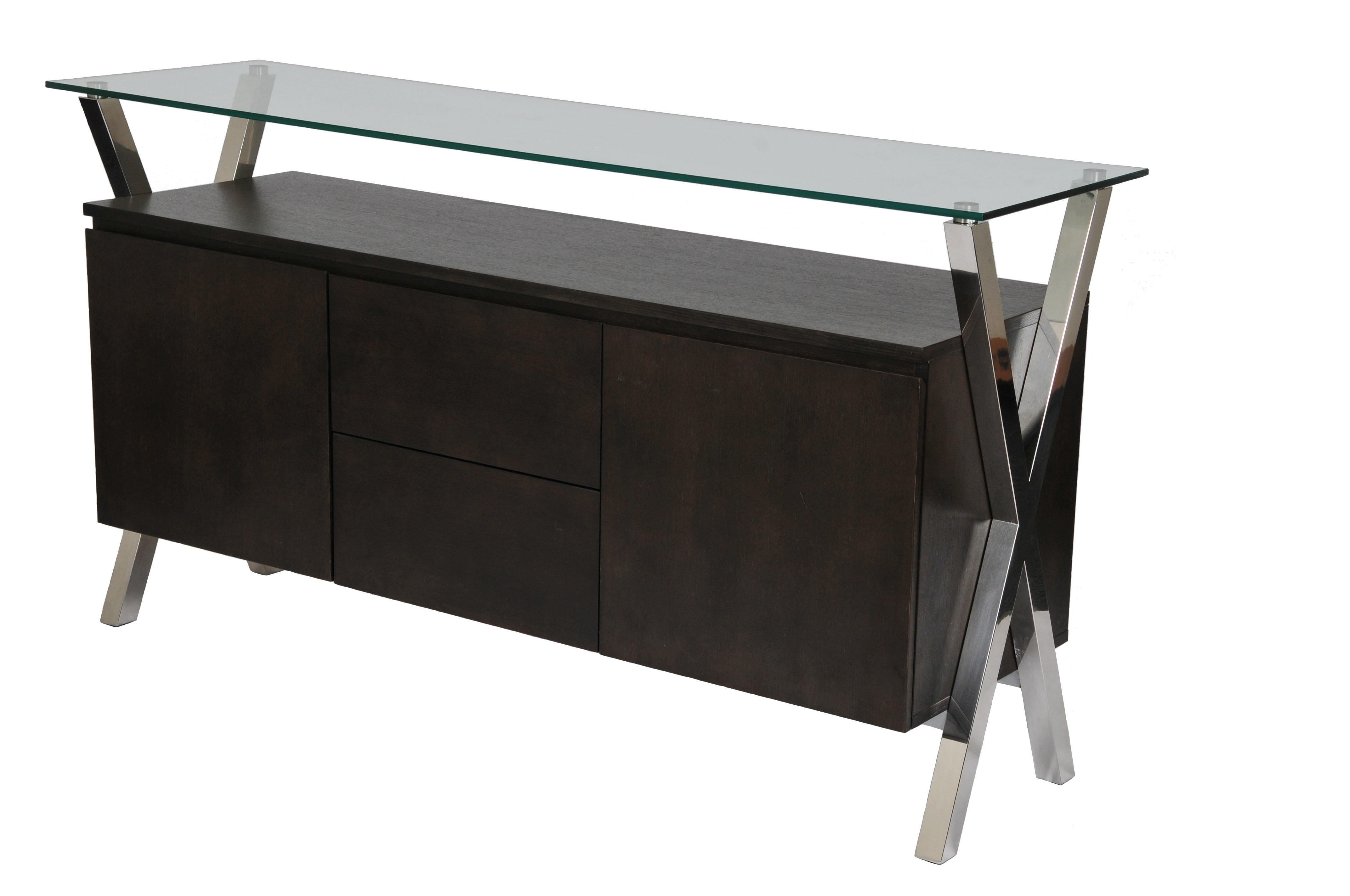 Modern & Contemporary High Gloss White Buffet | Allmodern Within Mid Century Modern Glossy White Buffets (View 11 of 30)