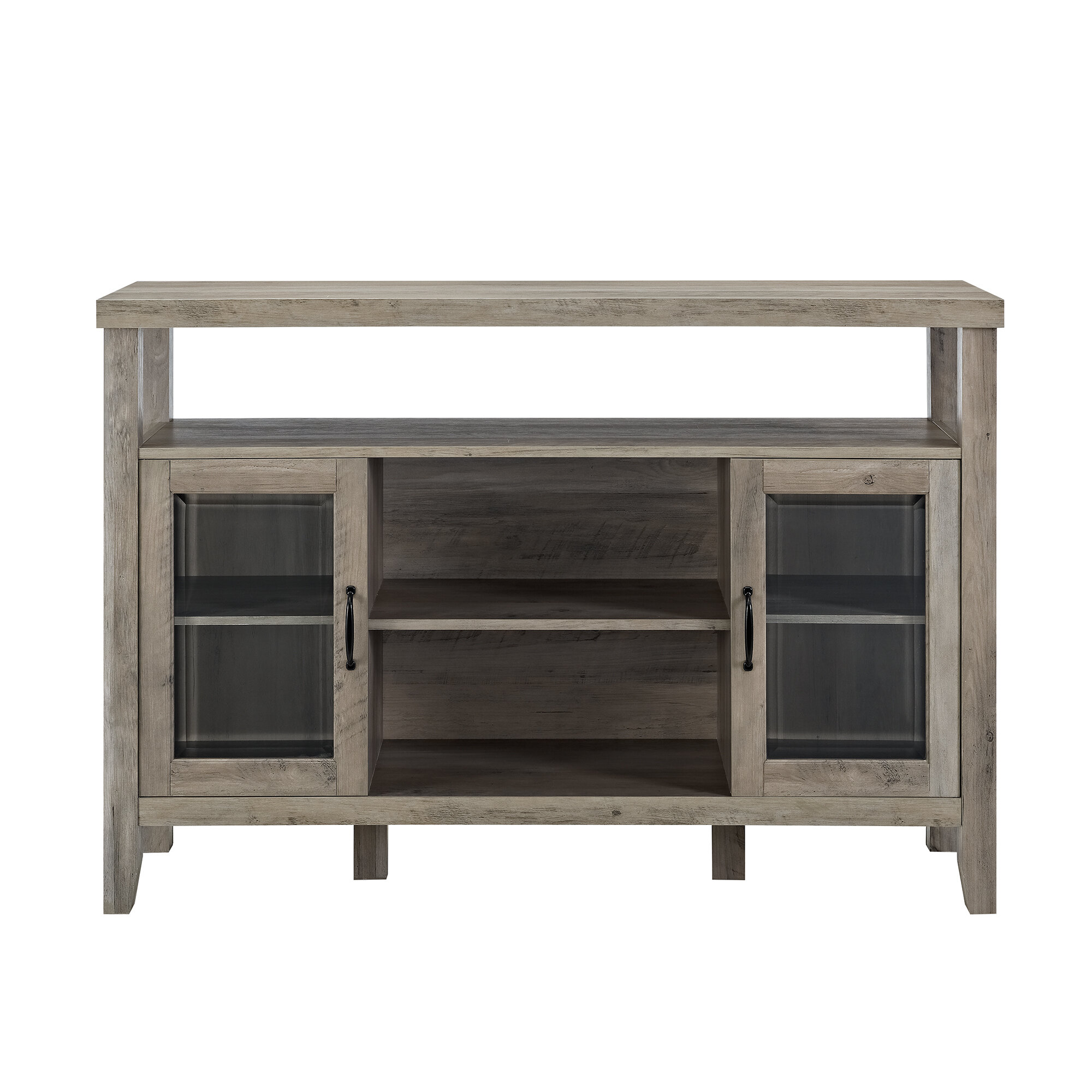 Modern & Contemporary Juniper 3 Door Sideboard | Allmodern inside Jacklyn 3 Door Sideboards (Image 19 of 30)